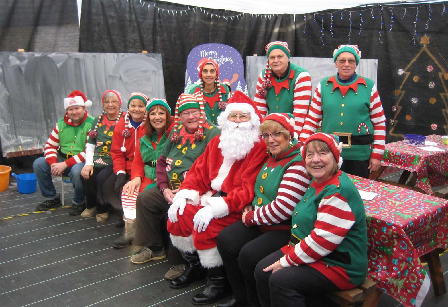 Santa's Grotto proves to be another big hit with visitors