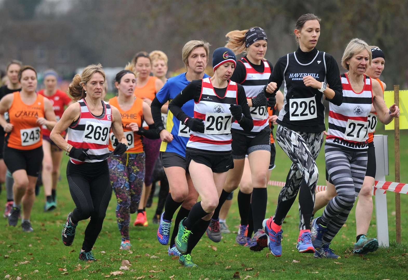 Suffolk Championships illustrate growth of Haverhill Running Club