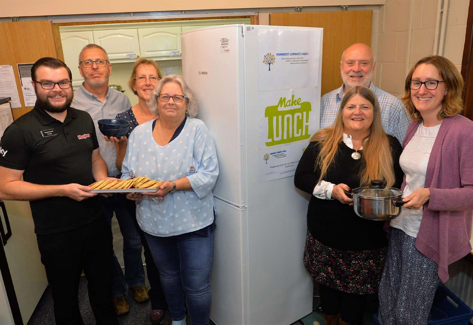 Volunteers set to Make Lunch in Newmarket as part of scheme to help struggling families