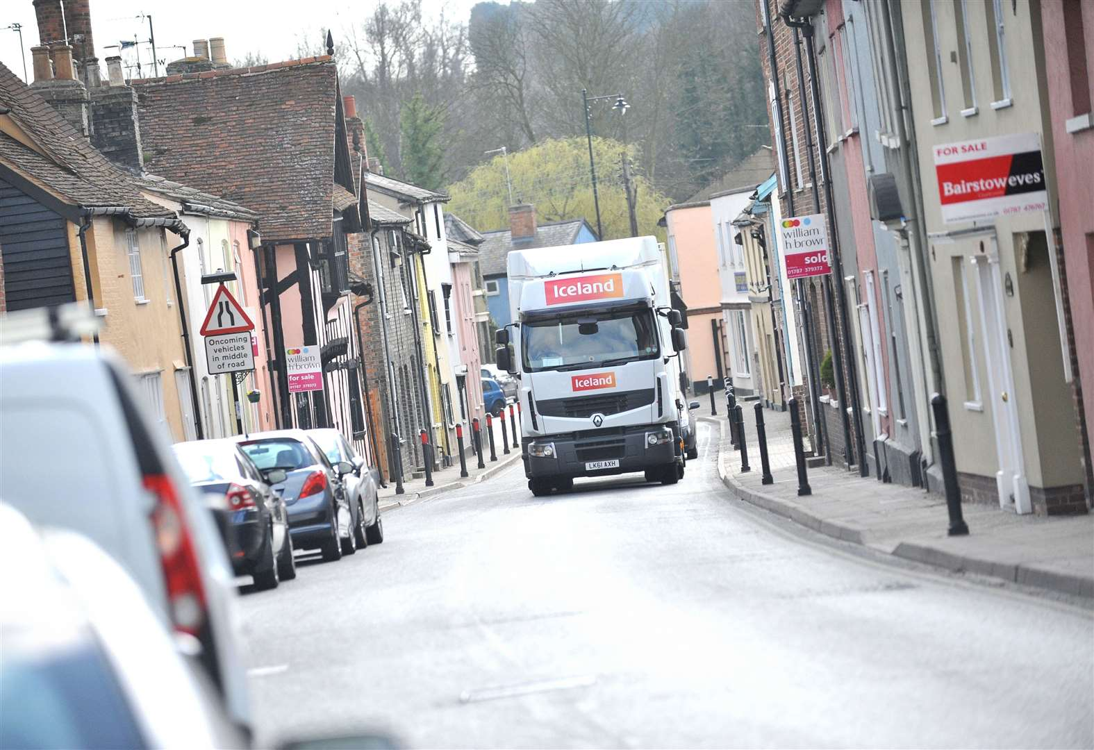 Fresh public consultation to be held on plans to cut pollution at Cross Street in Sudbury