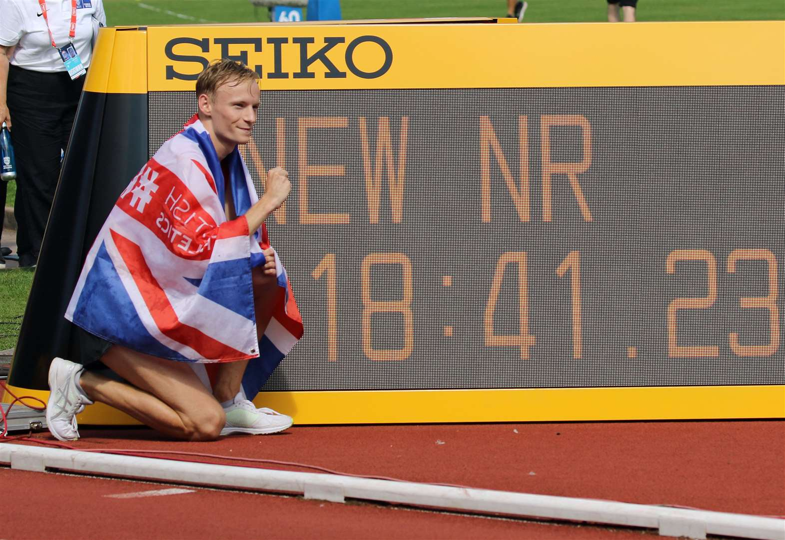 From Scaltback to new British record holder