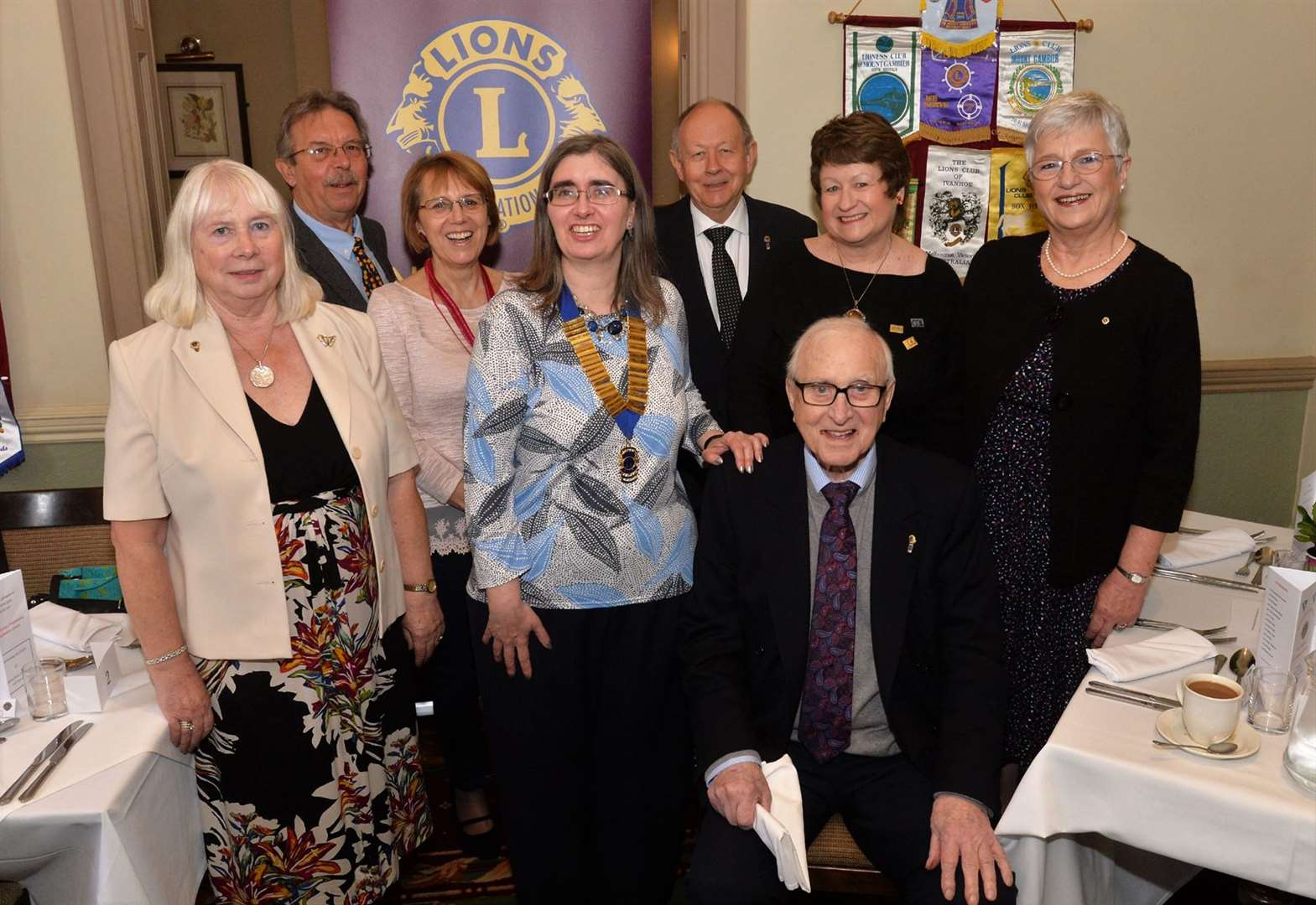 Pride of town's Lions Club as they mark 43 years' service