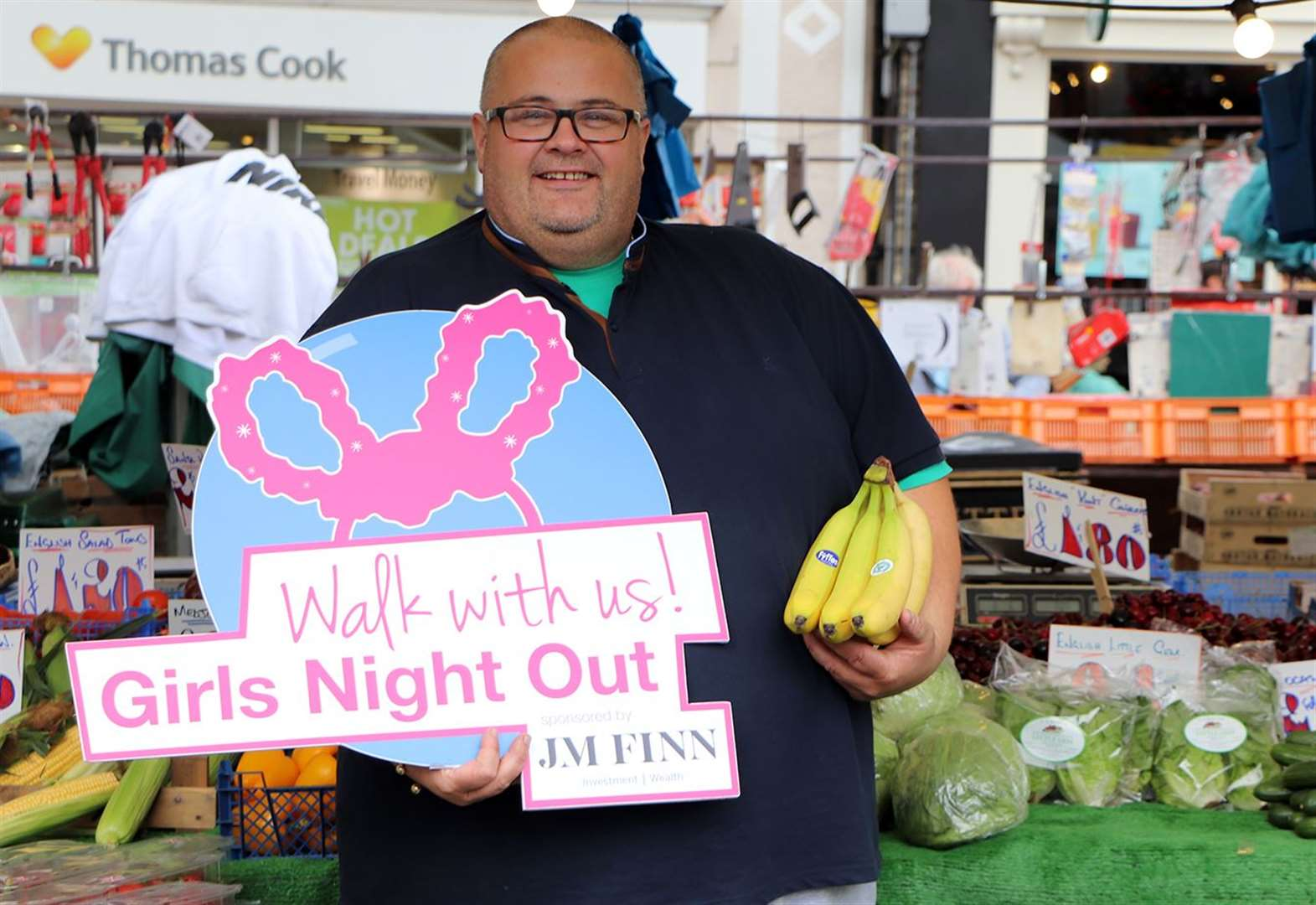 Market traders get behind charity