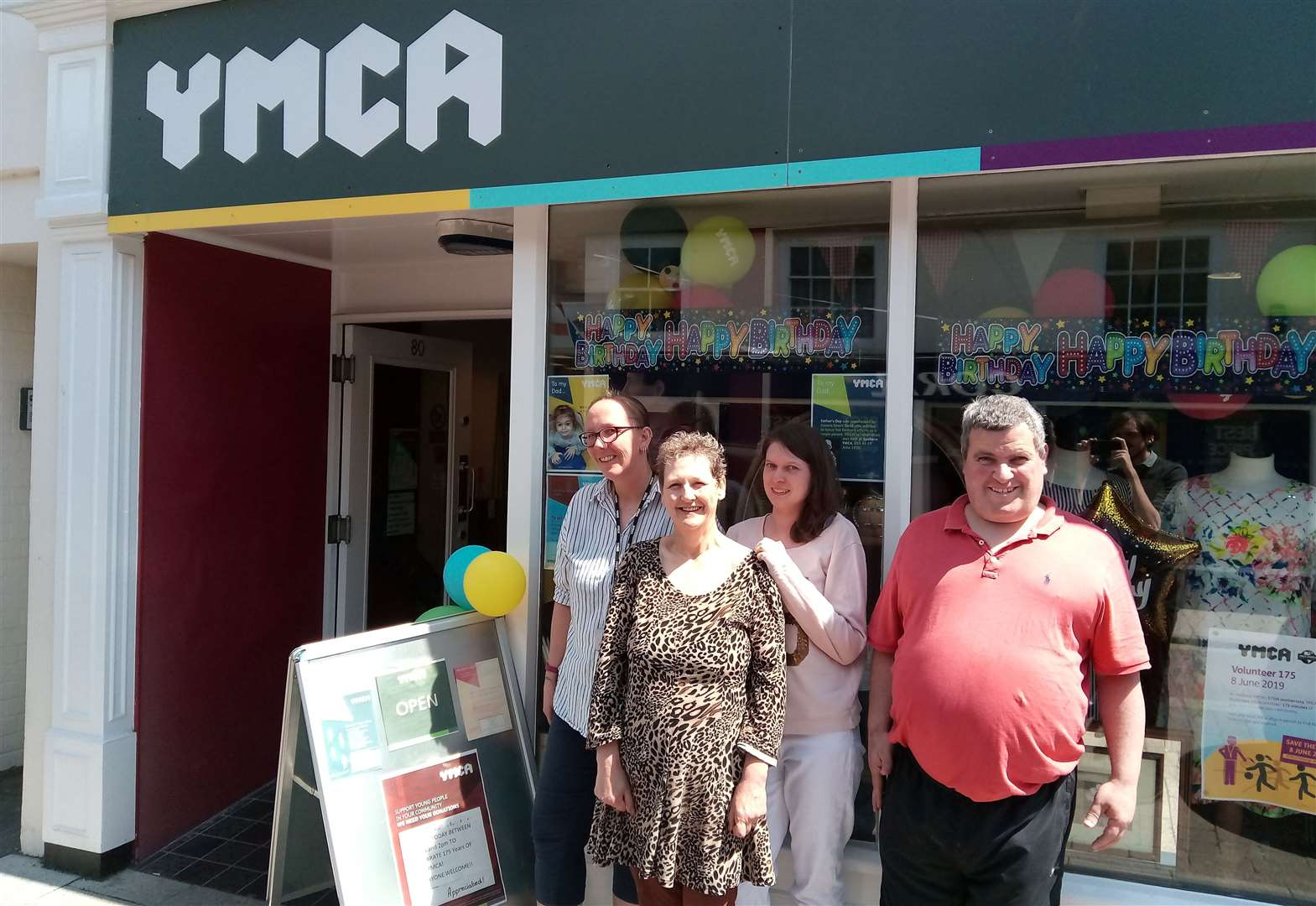 Sudbury charity shop marks 175th anniversary of foundation of YMCA