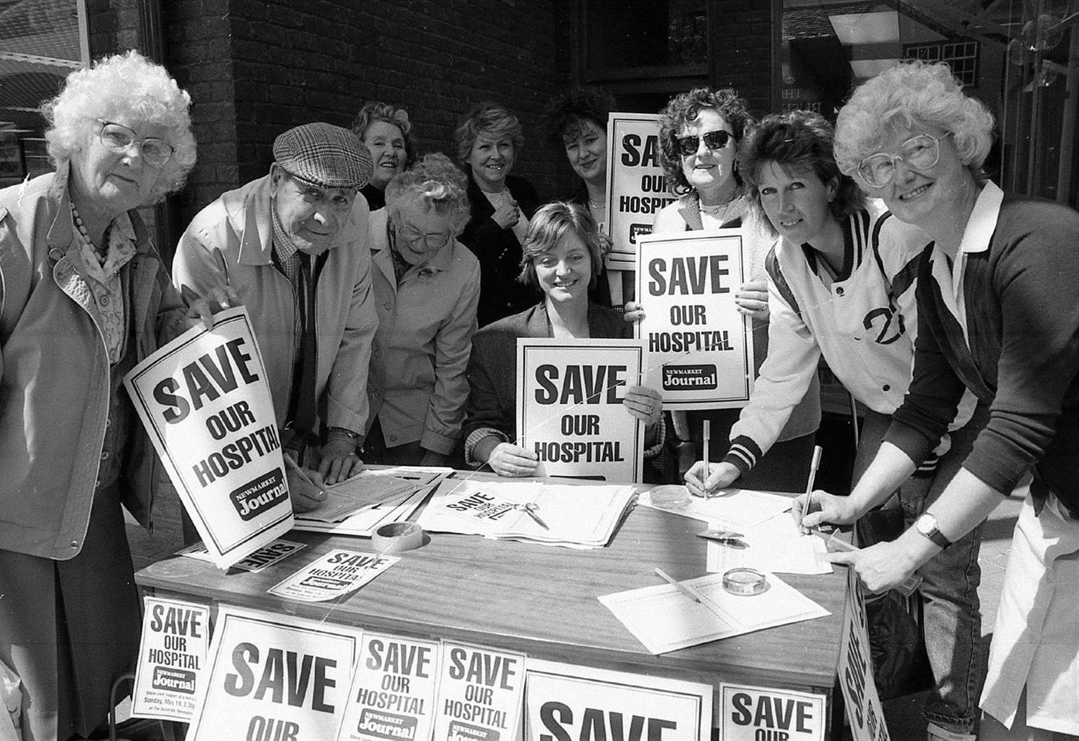 United by fight to save Newmarket's hospital
