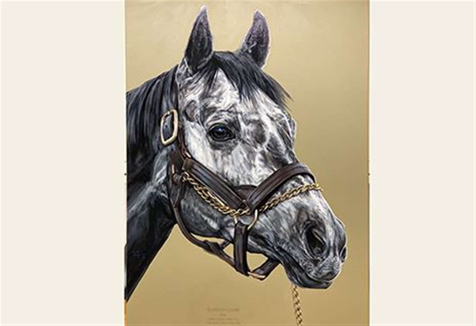 Reward offered for stolen racehorse painting