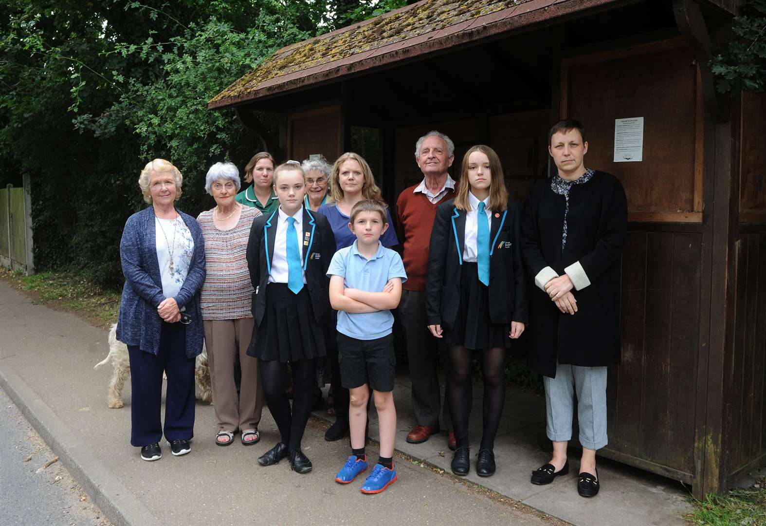 Parents fear safety risks if Great Waldingfield pupils lose transport to school in Sudbury
