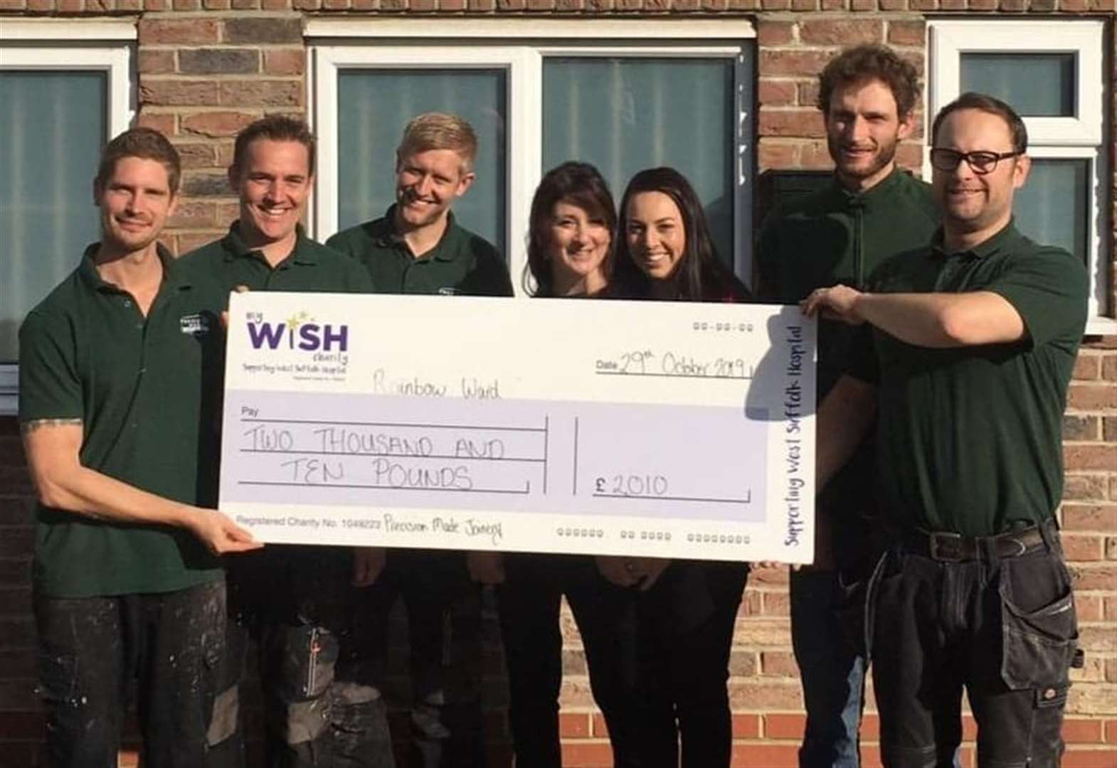 Precision Made Joinery in Acton raises over £2,000 for charity in obstacle course