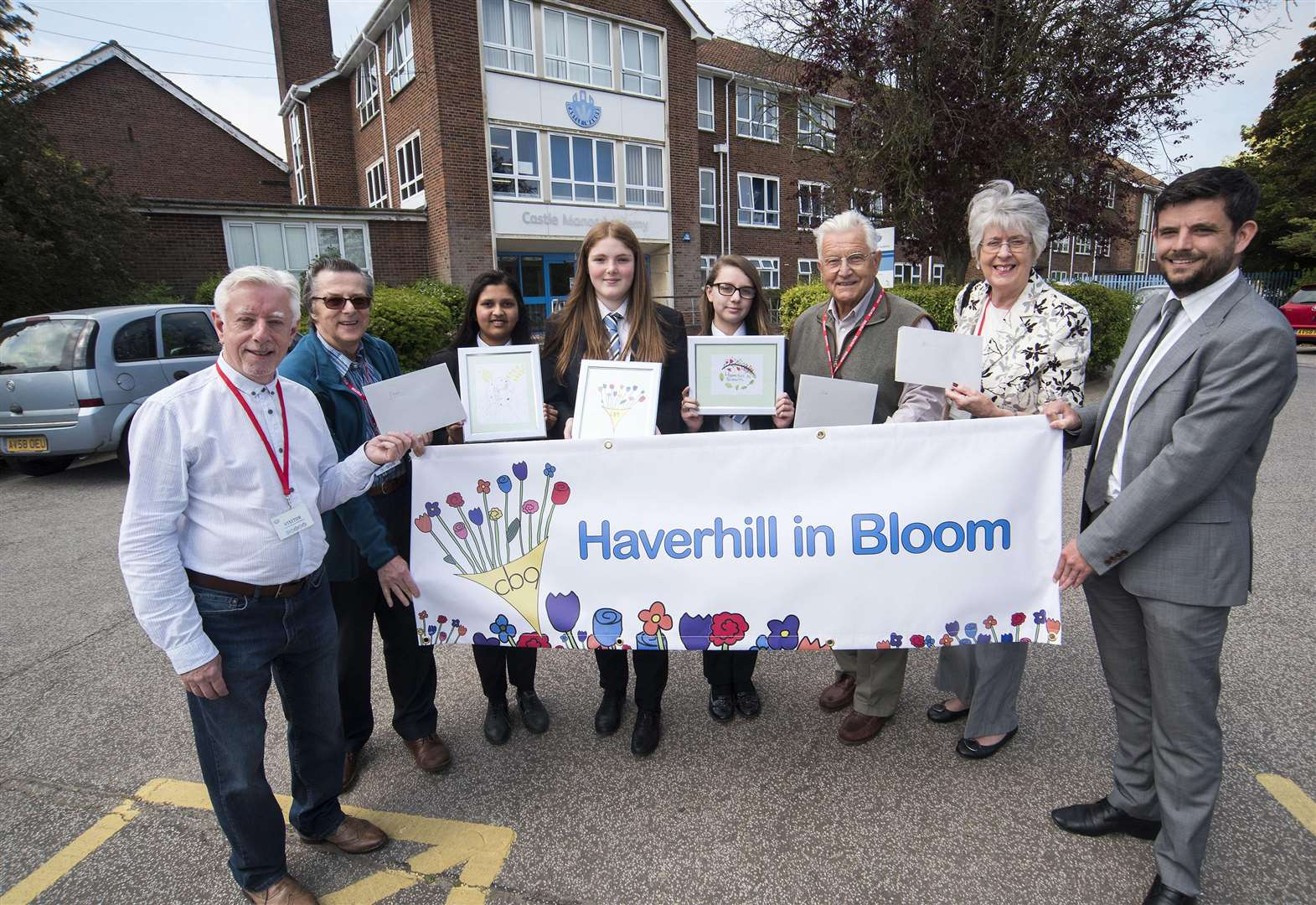 New 'in Bloom' logo created by school student