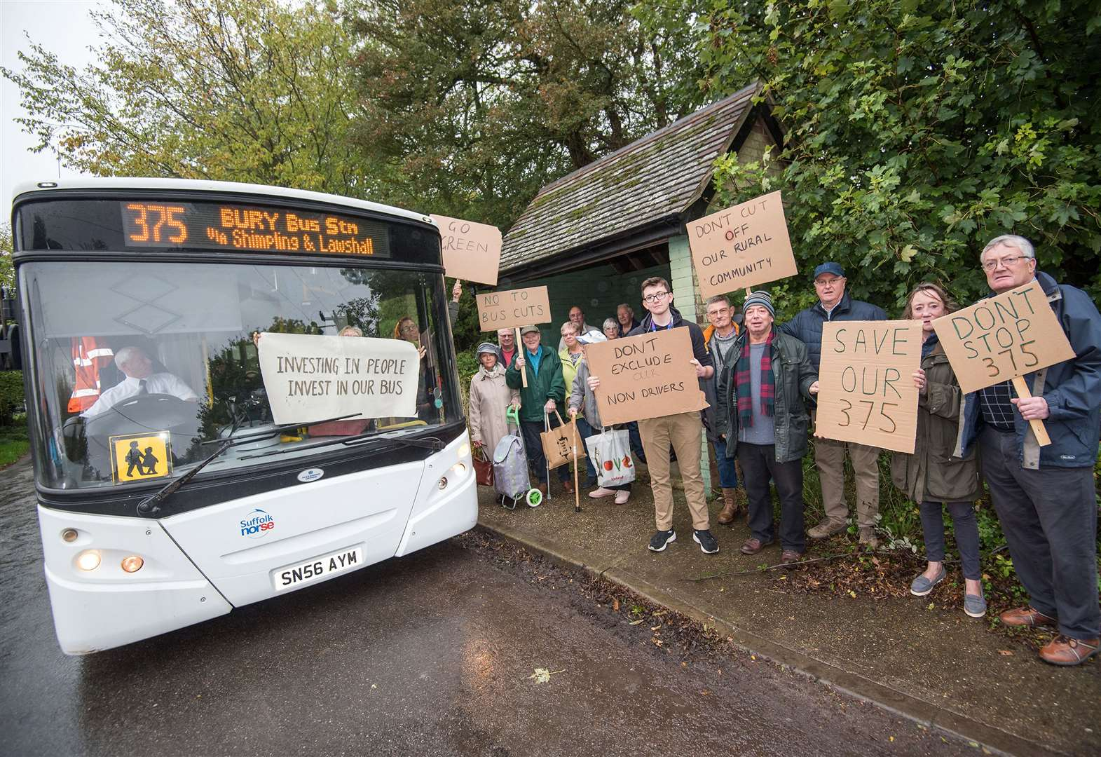 Isolation fears as axe hangs over village bus service