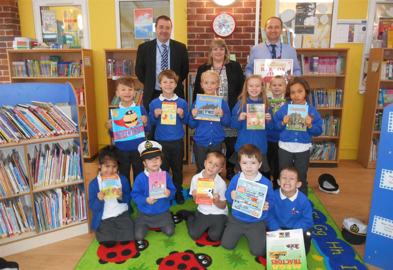 Trust provides new library for academy