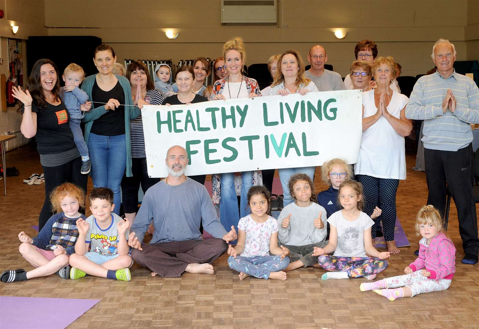 Healthy Living Festival in Kedington is just the start of wellbeing project