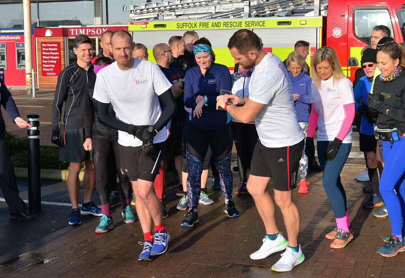 Newmarket rallies behind fundraising 24 hour run for schoolgirl Evelina and raises more than £18,000