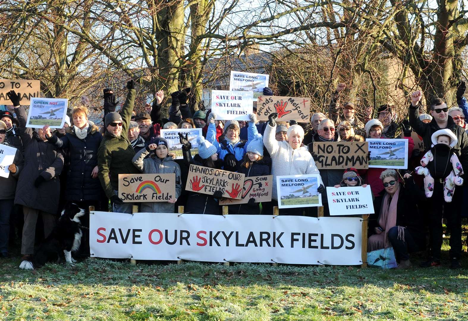 Campaign raises over £20,000 to support fight at inquiry into proposed Long Melford homes