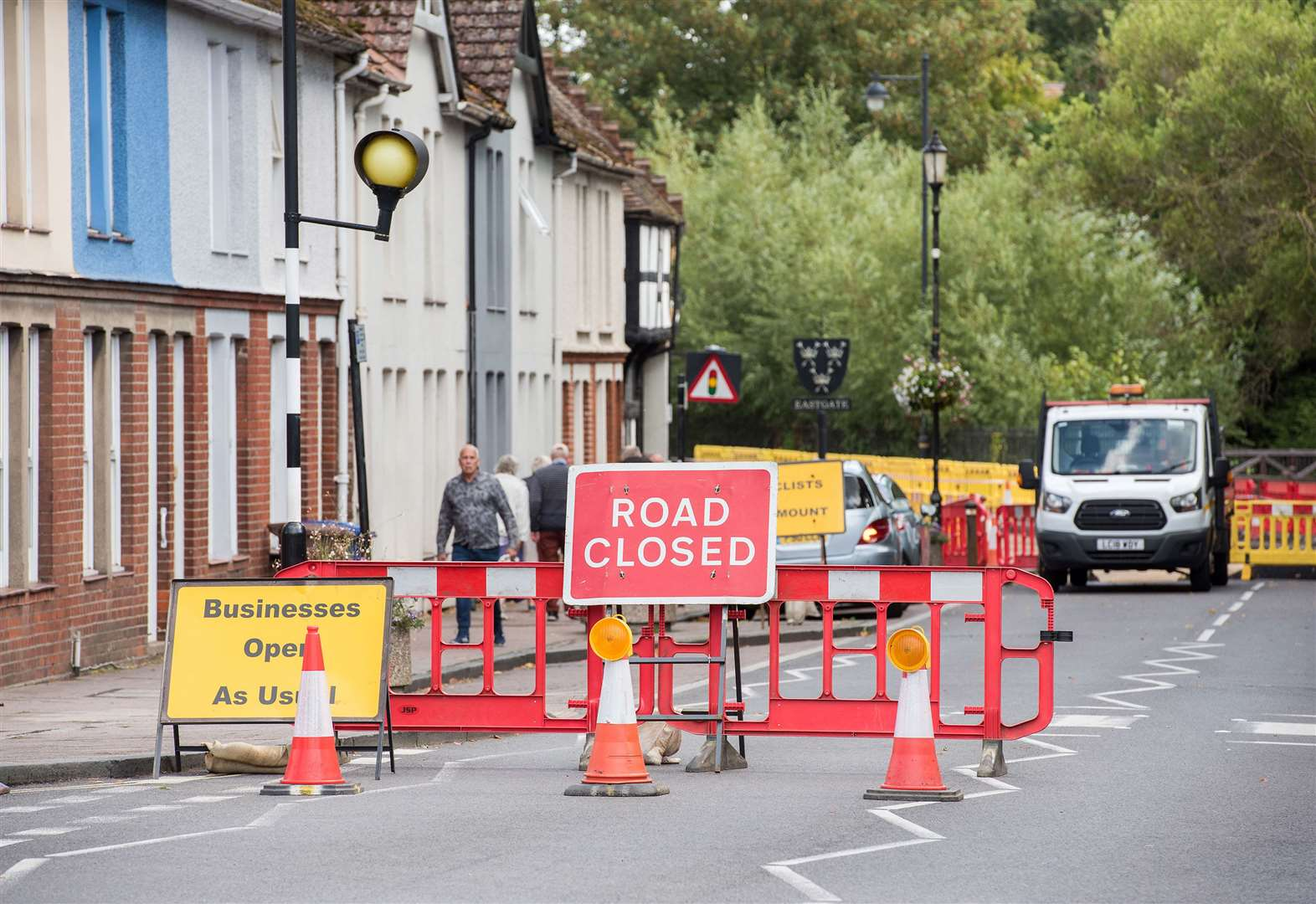 Utilities companies will require roadworks permits from April