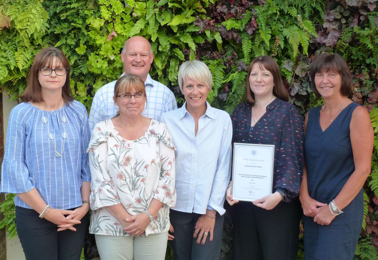 Awards blossom for garden centre