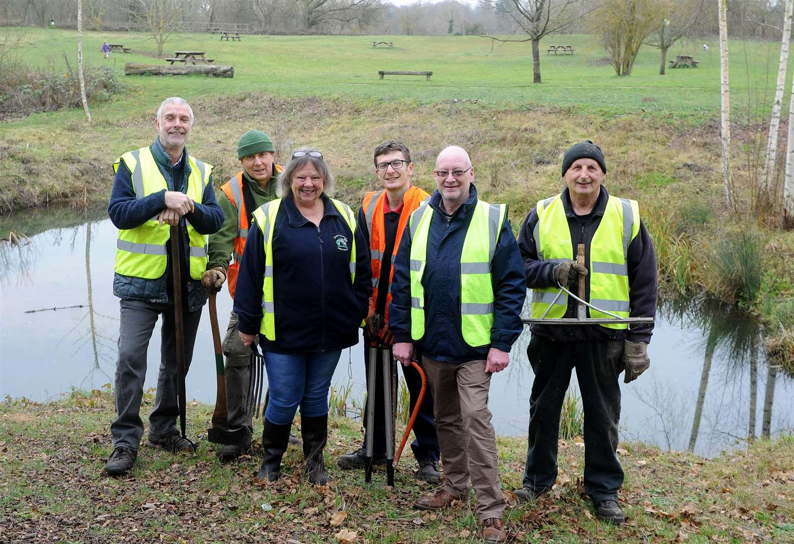 Volunteers seek public support in bid for cash grant to aid Long Melford Country Park