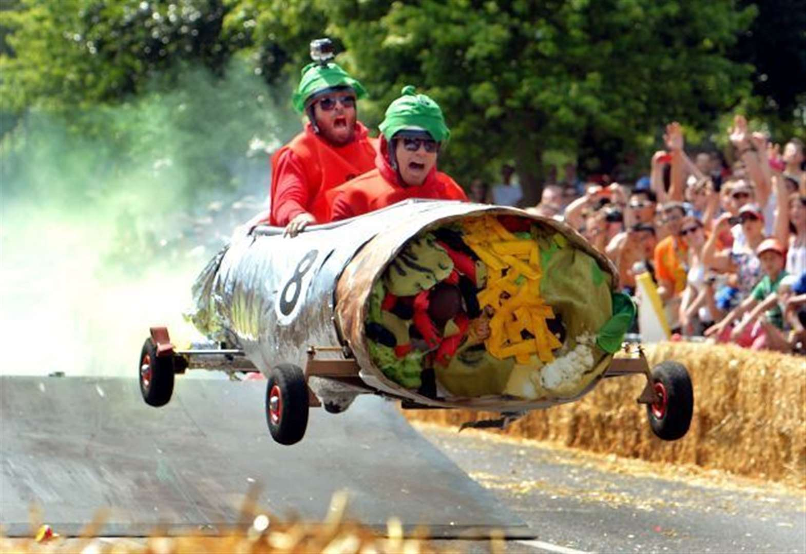 Soapboxes ready for the off as Newmarket hosts first derby for nearly 80 years