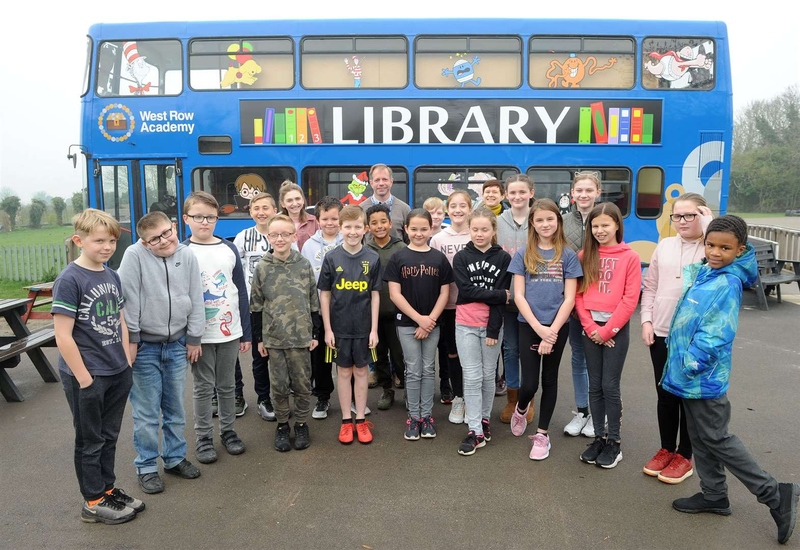 'It was worth the wait' – new chapter for school library bus