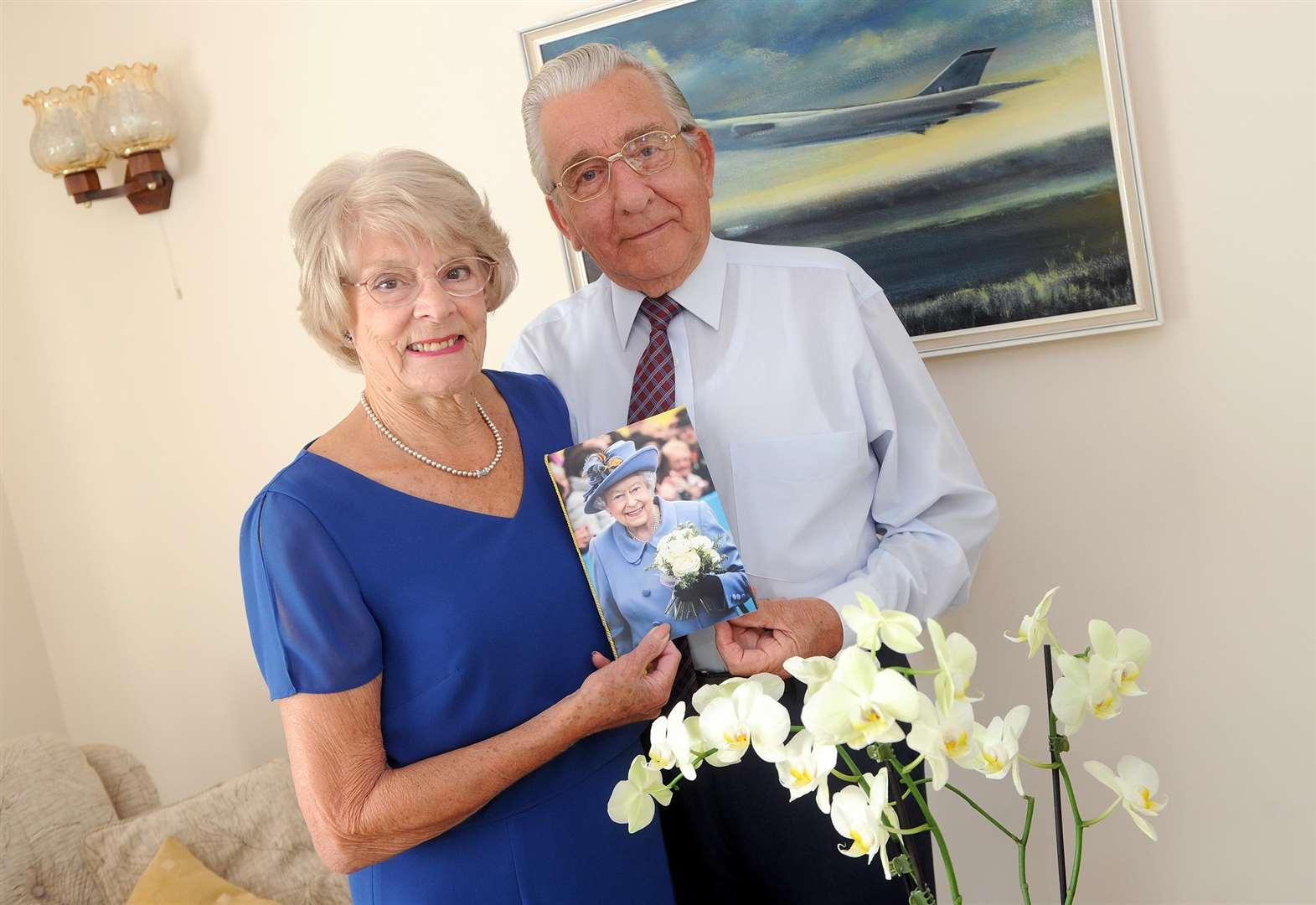 Great Waldingfield couple mark diamond anniversary