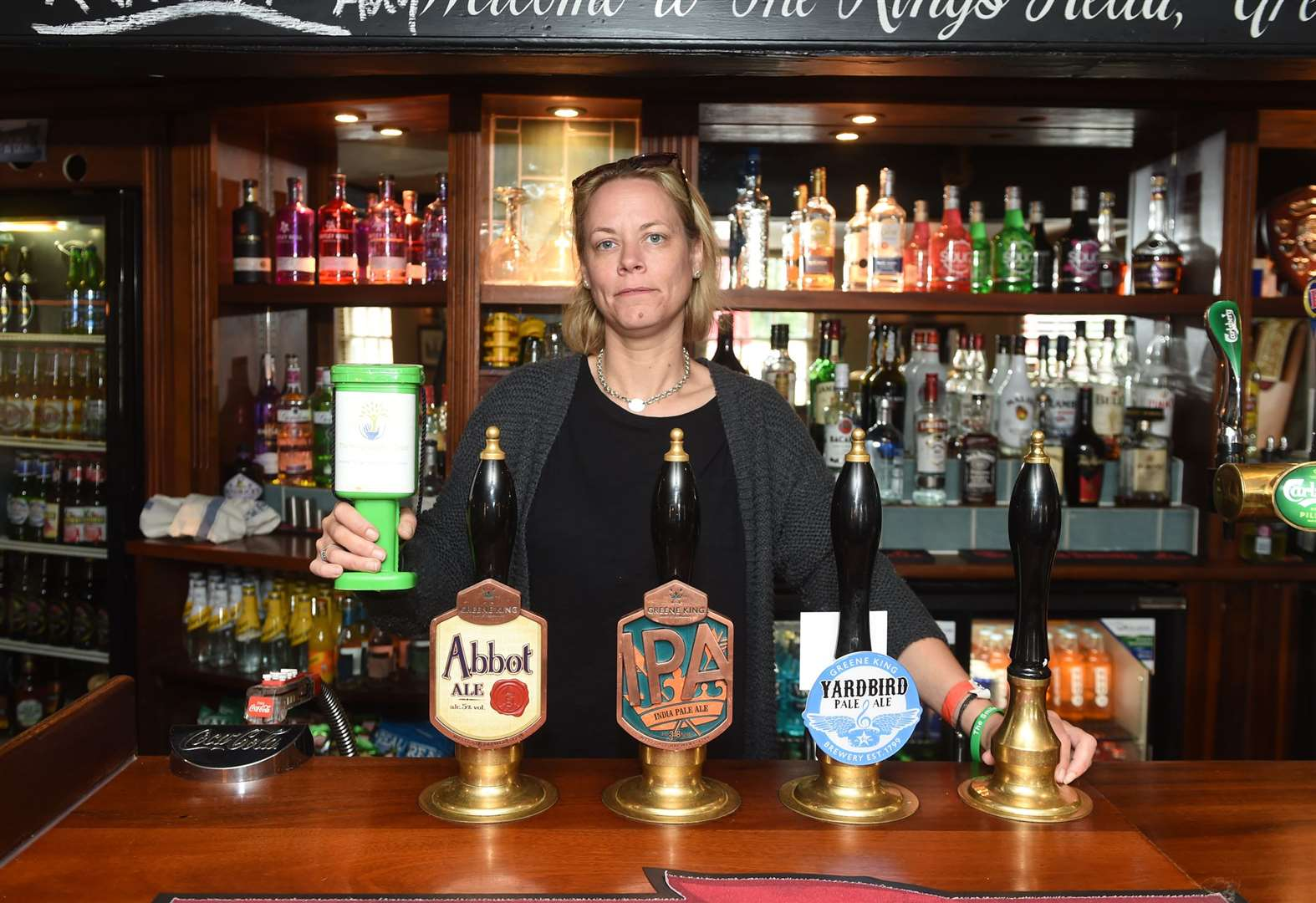 Great Cornard pub in disbelief after theft of donations for cancer charity
