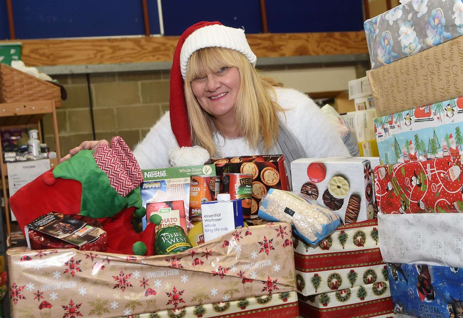 Christmas Foodbank Appeal: Chance to win a £50 shopping voucher by helping to feed those in need