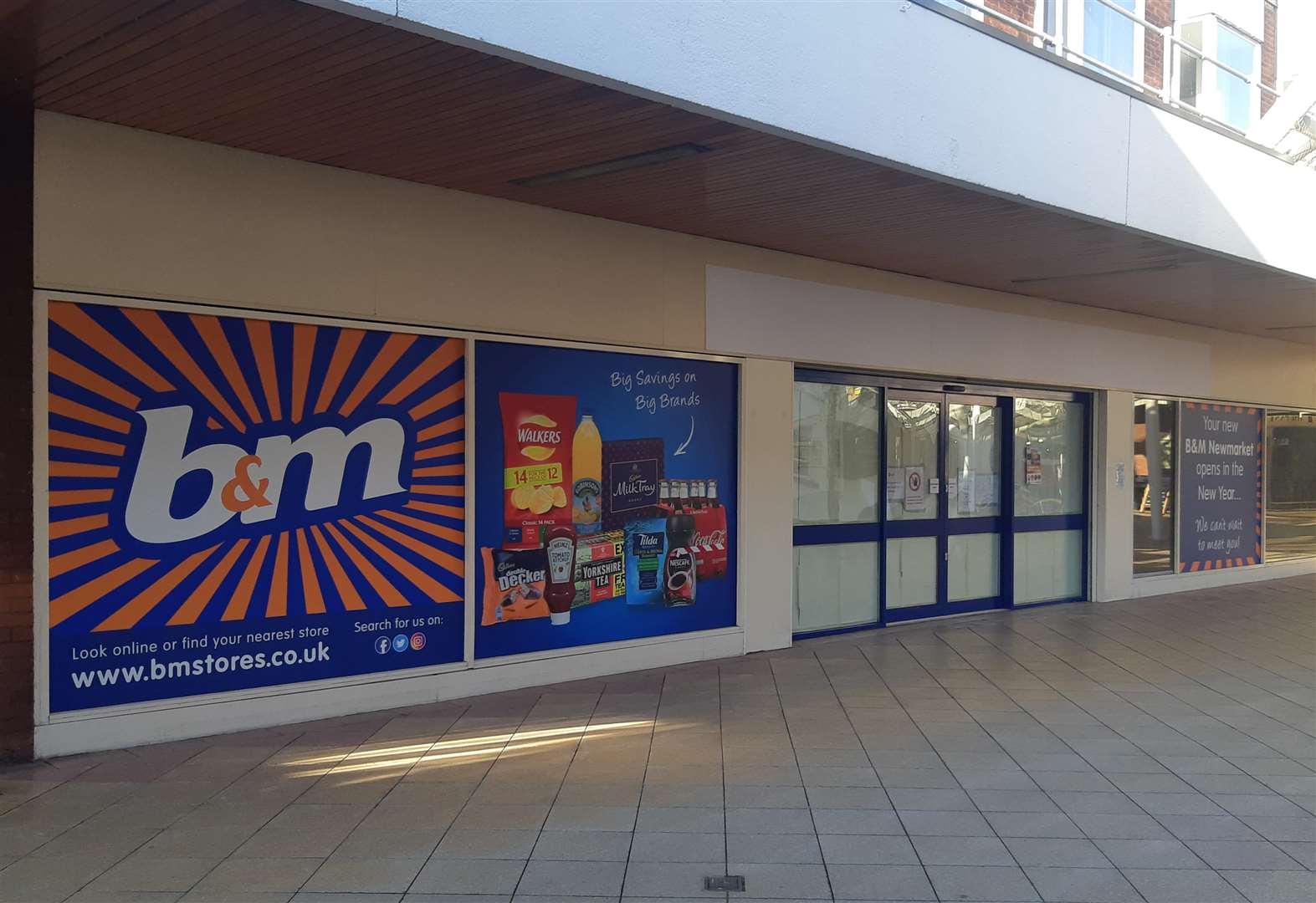 B&M store gets opening date