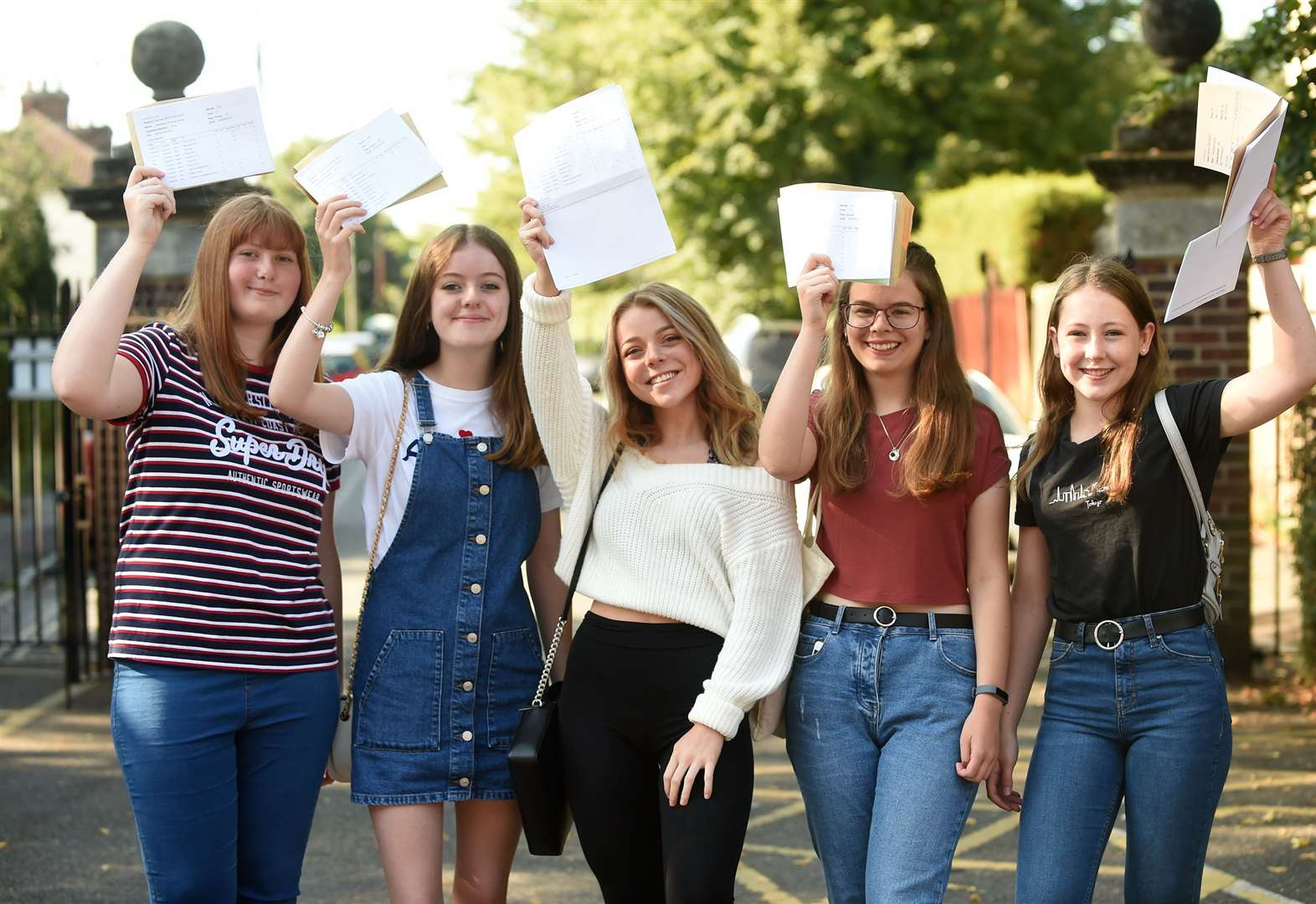 GCSE Results 2019: Pupils in the Bury St Edmunds, Mildenhall, Thetford and Stowmarket areas discover if they have made the grade