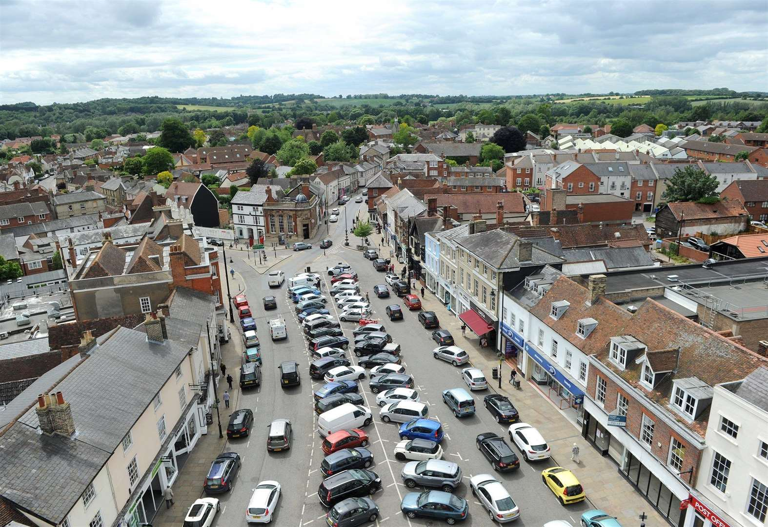 Sudbury's free parking under review as Babergh unveils 'Vision for Prosperity' plan