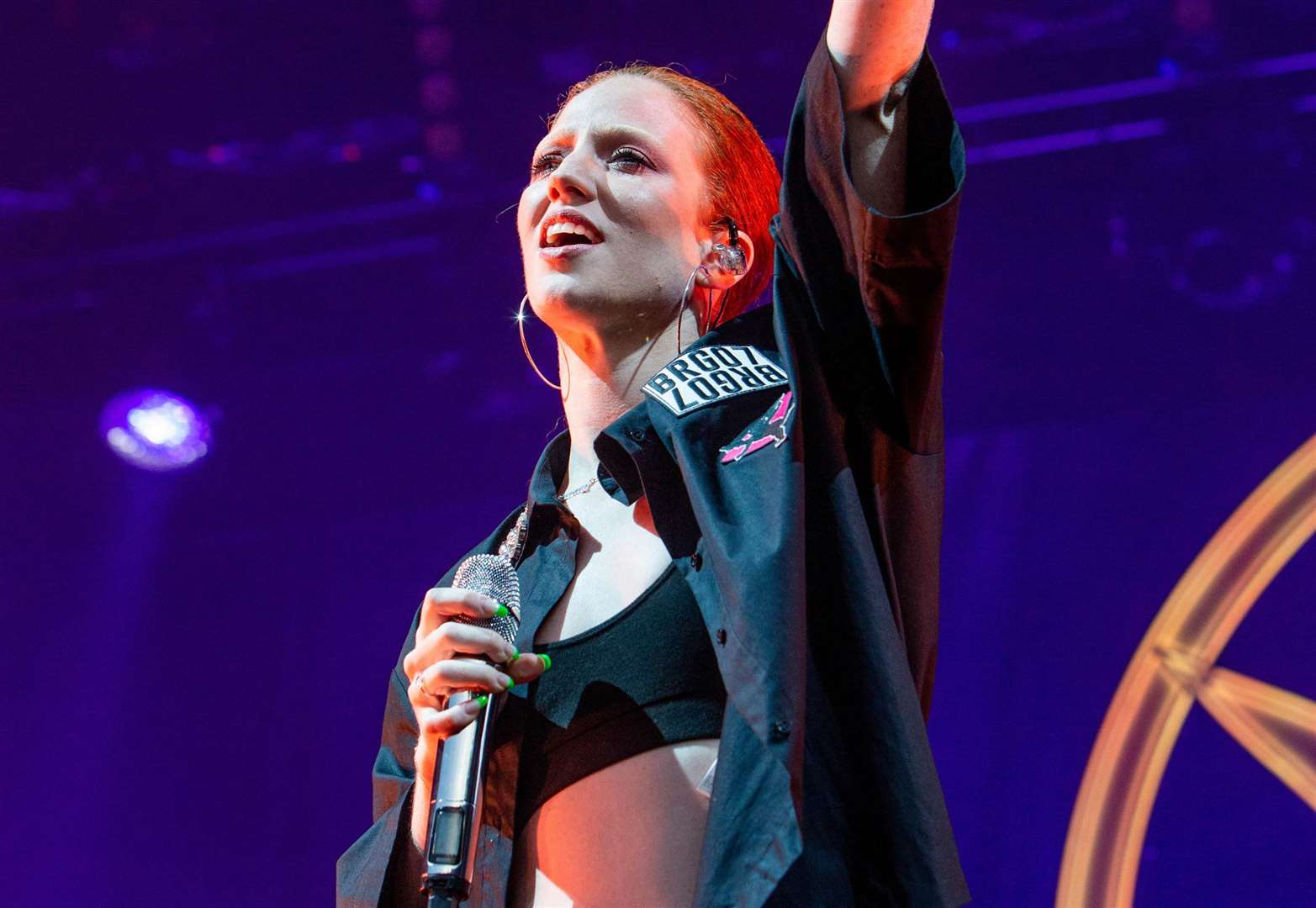 Jess Glynne back to her fiery self at Thetford Forest gig