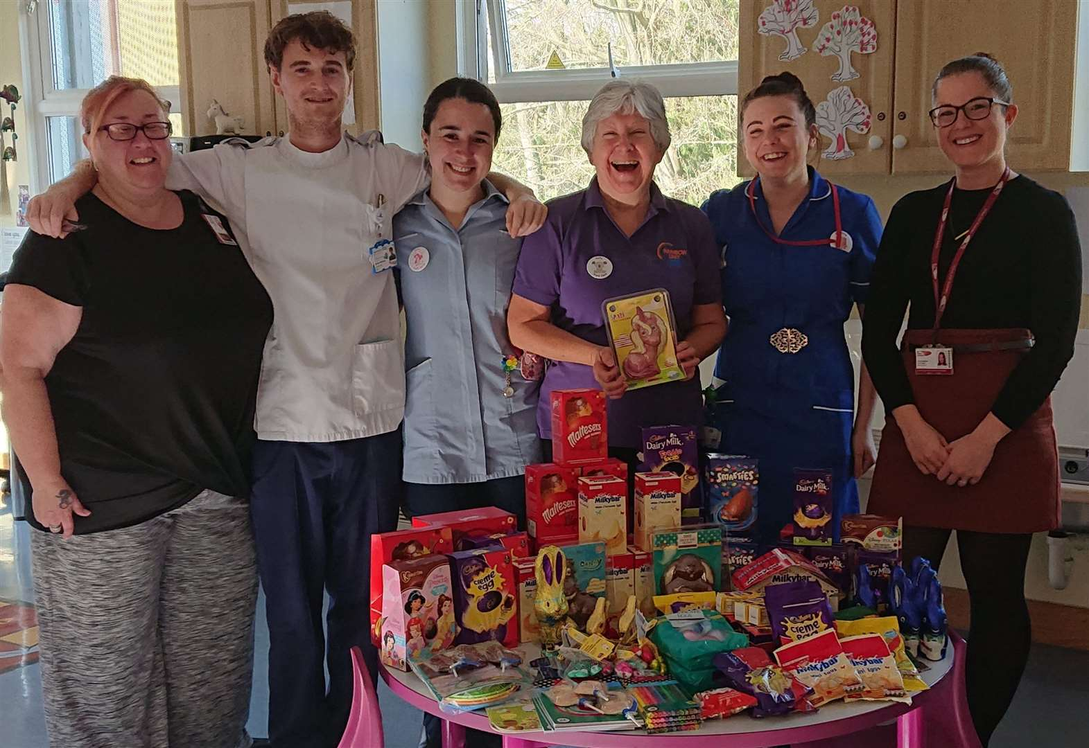 Oliver, 4, thanked for giving his Easter eggs to children in Bury hospital