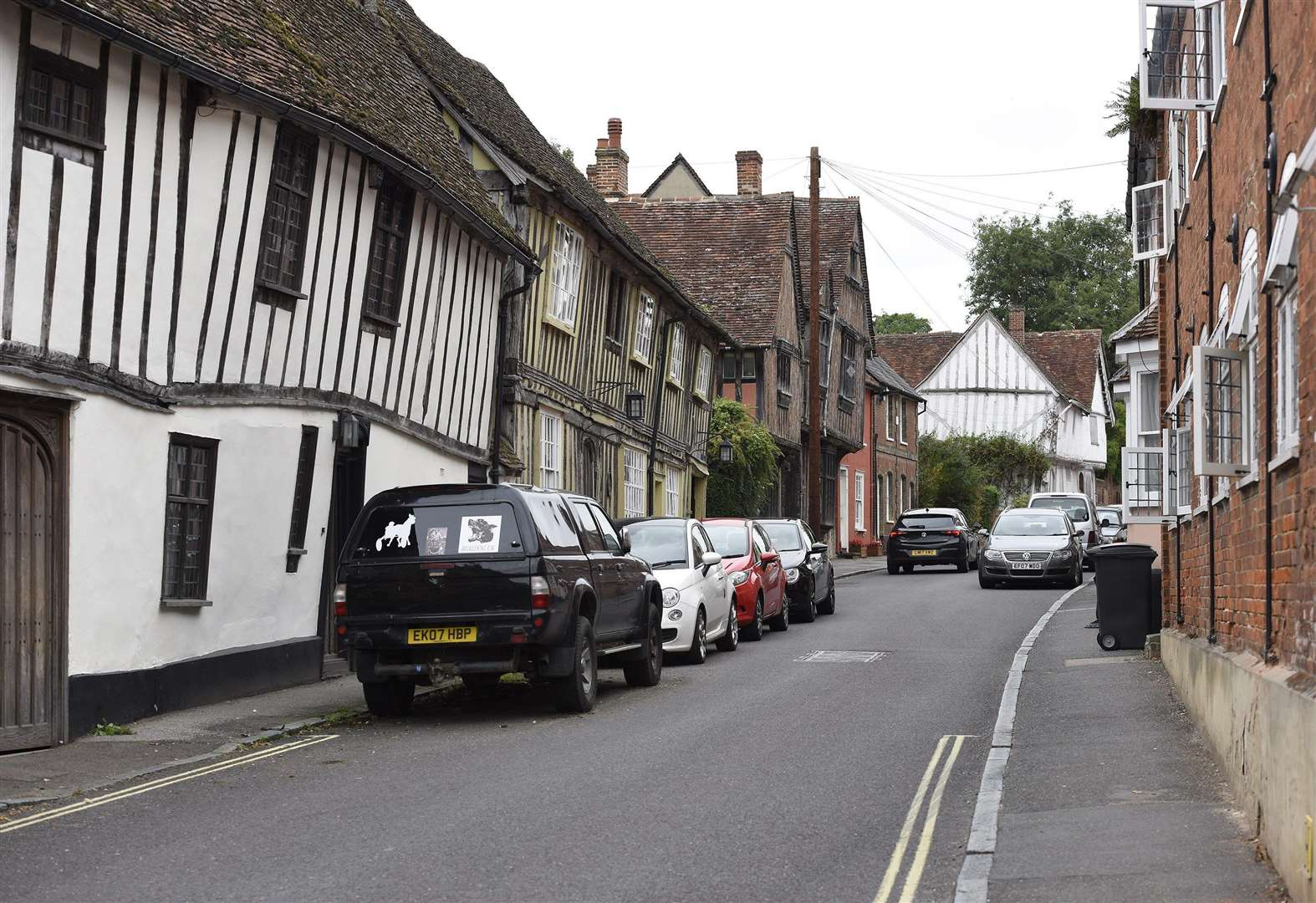 Lavenham calls on county council to meet new date for HGV limit on historic street