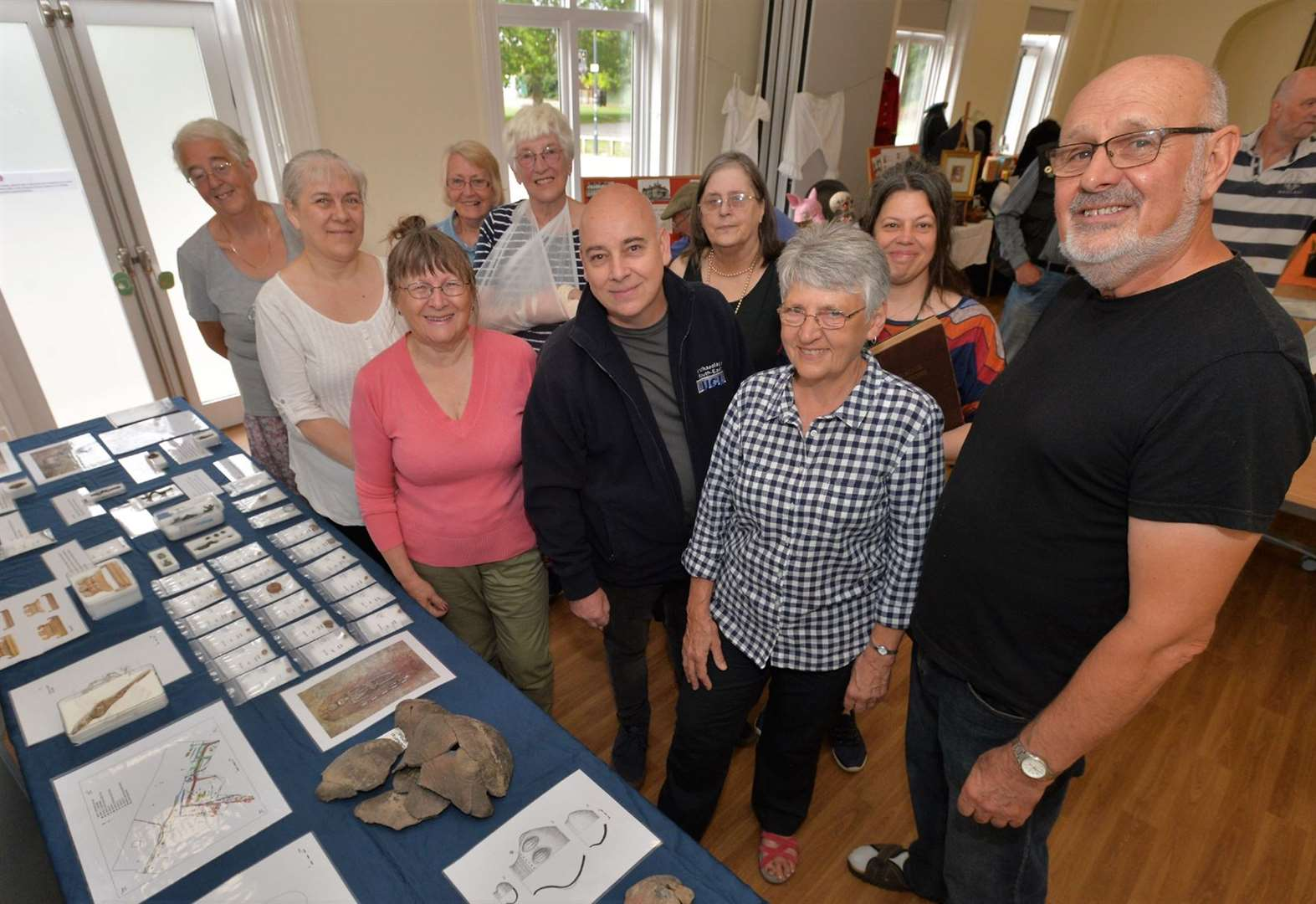 Soham's Anglo-Saxon past goes on show