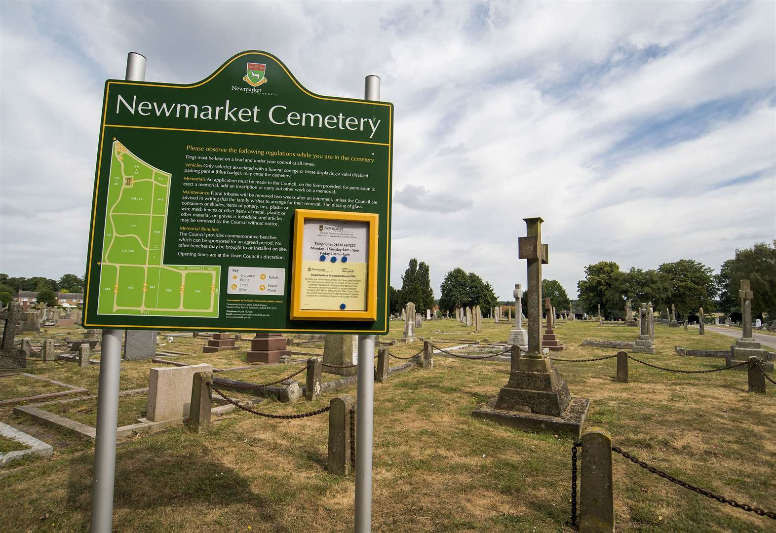 Newmarket Town Council gasses rabbits at town cemetery