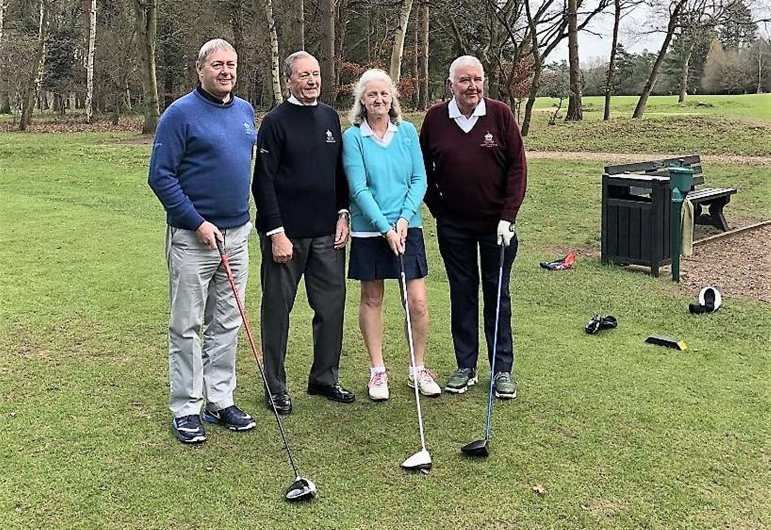 Chris Boughton's Golf Column: New captains hit off the tee for 2019