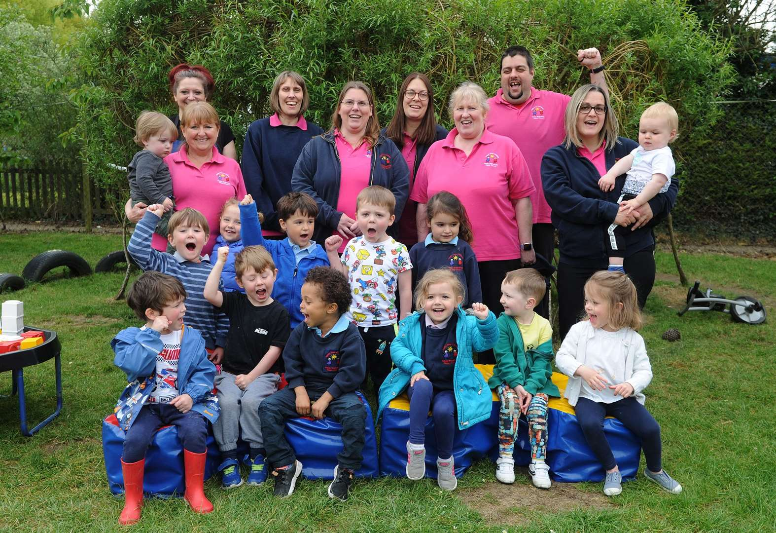 Childcare setting provides 'fun and motivation'