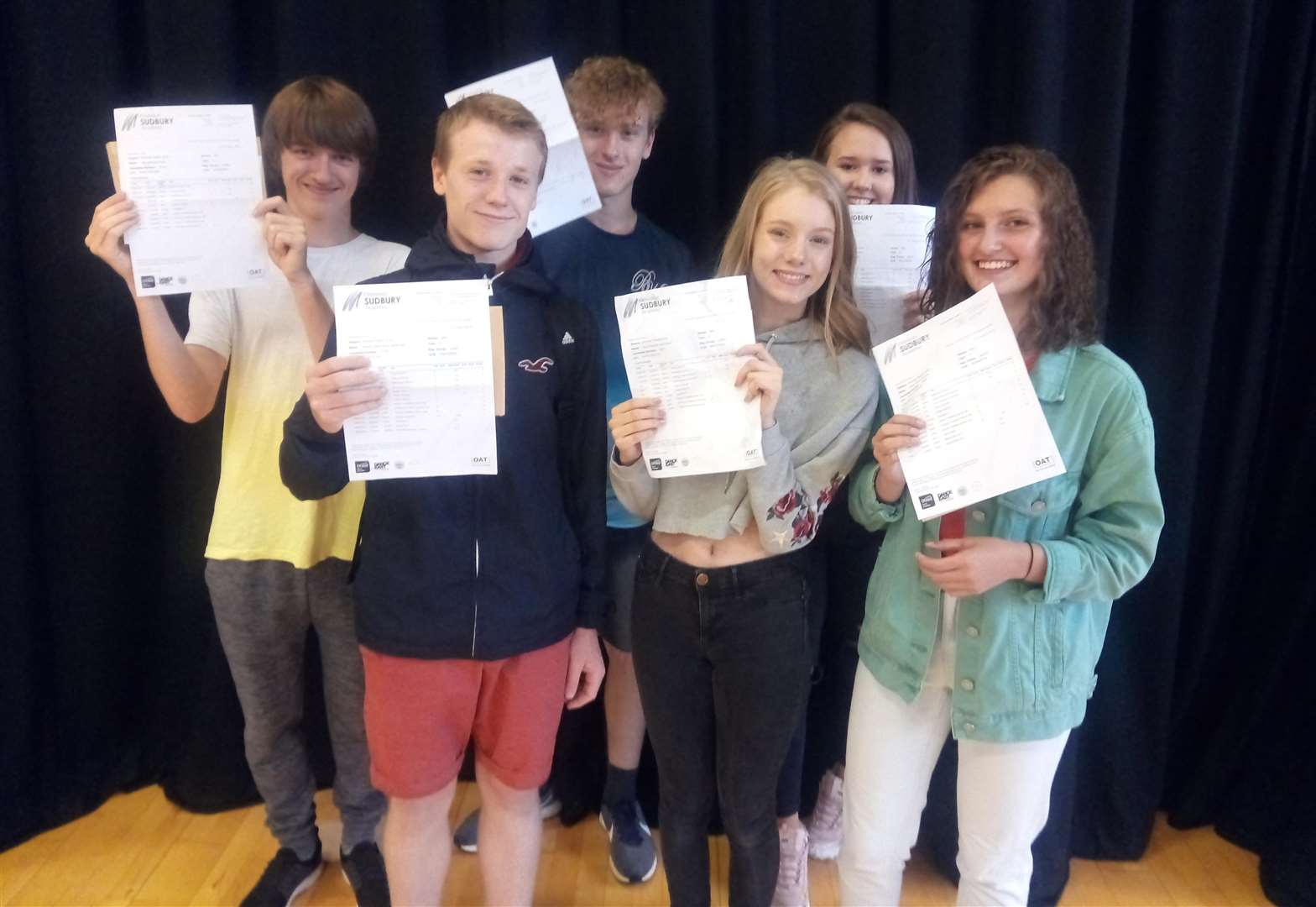 GCSE RESULTS ROUND-UP: Suffolk students rise to challenge of tougher exams