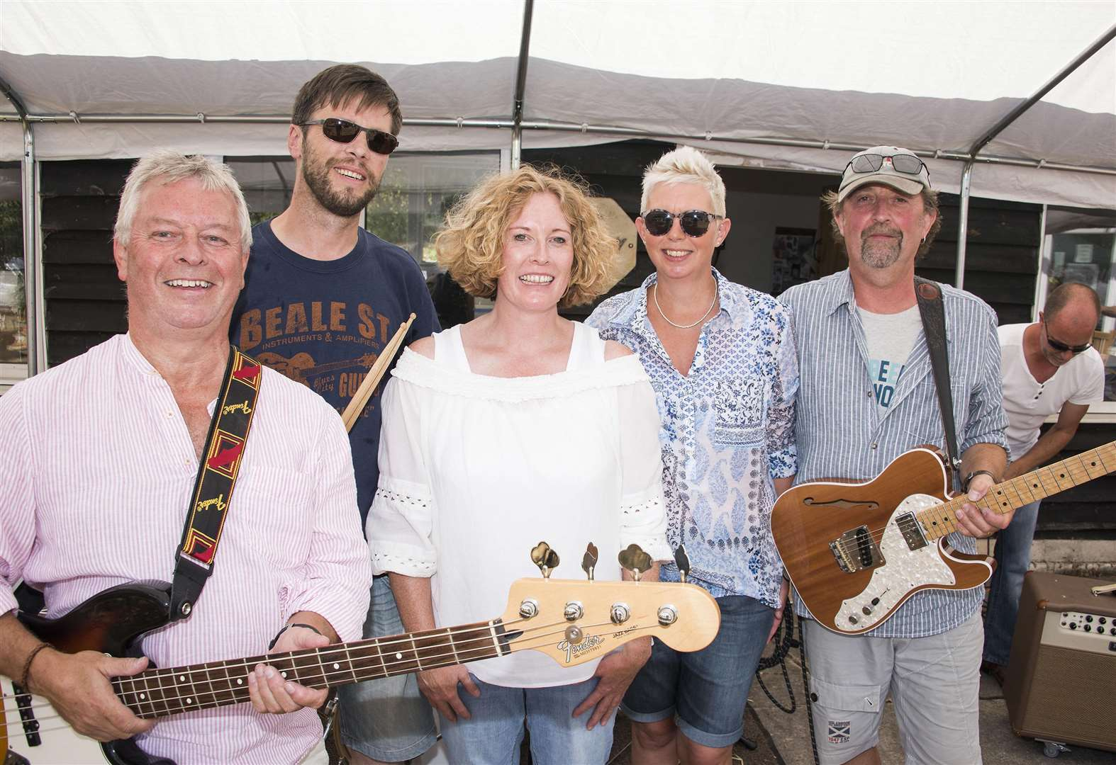 PICTURES: Mini festival gets Bures rocking in aid of Ferriers Barn