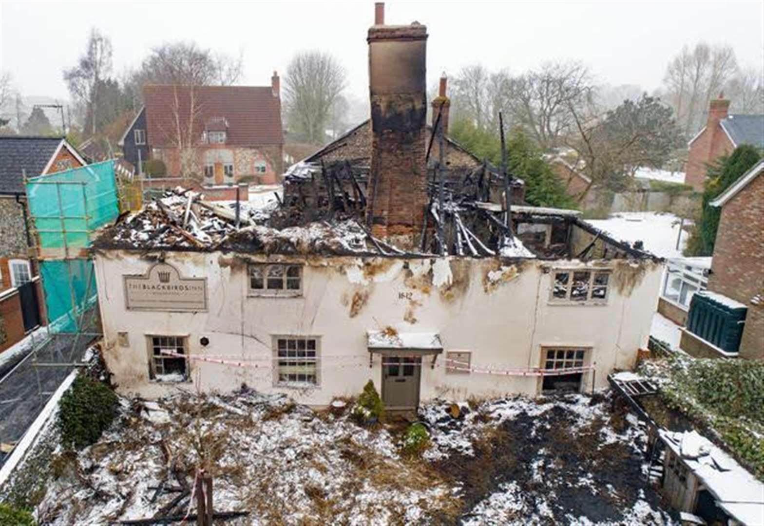 Historic pub set to rise from the ashes