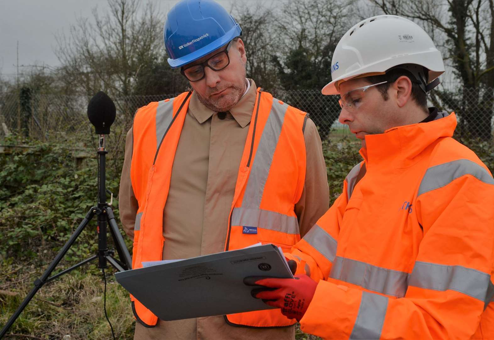 Another step forward for Soham's railway station as sound experts begin two week long study