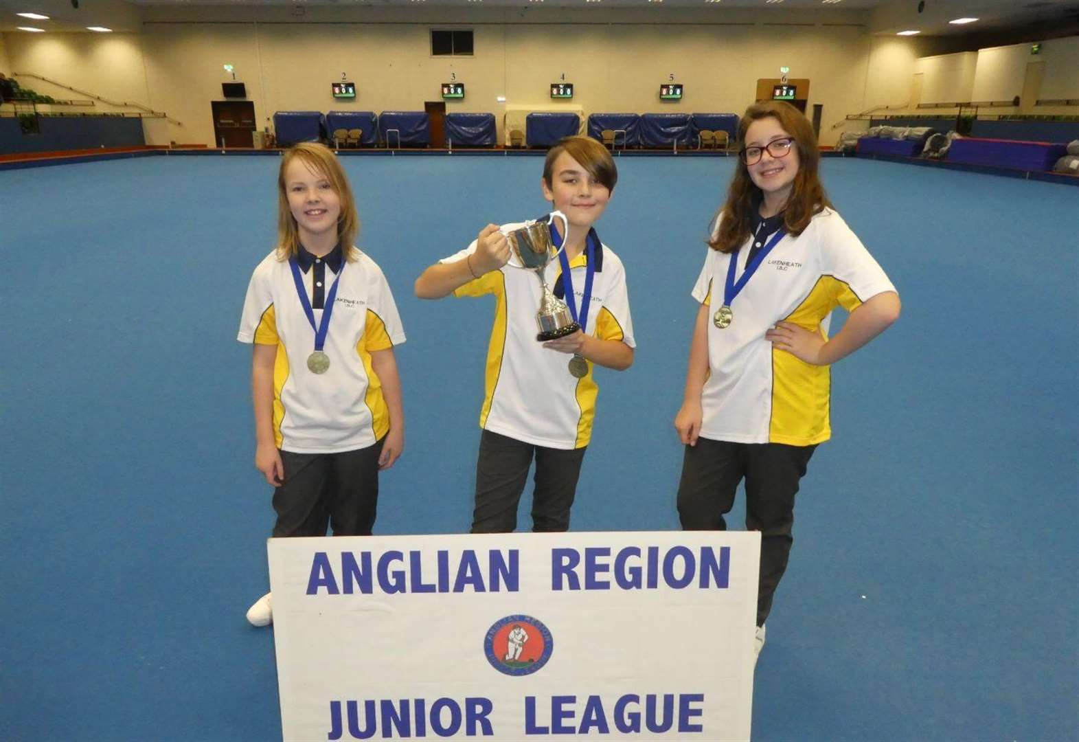 Young trio secure regional prize