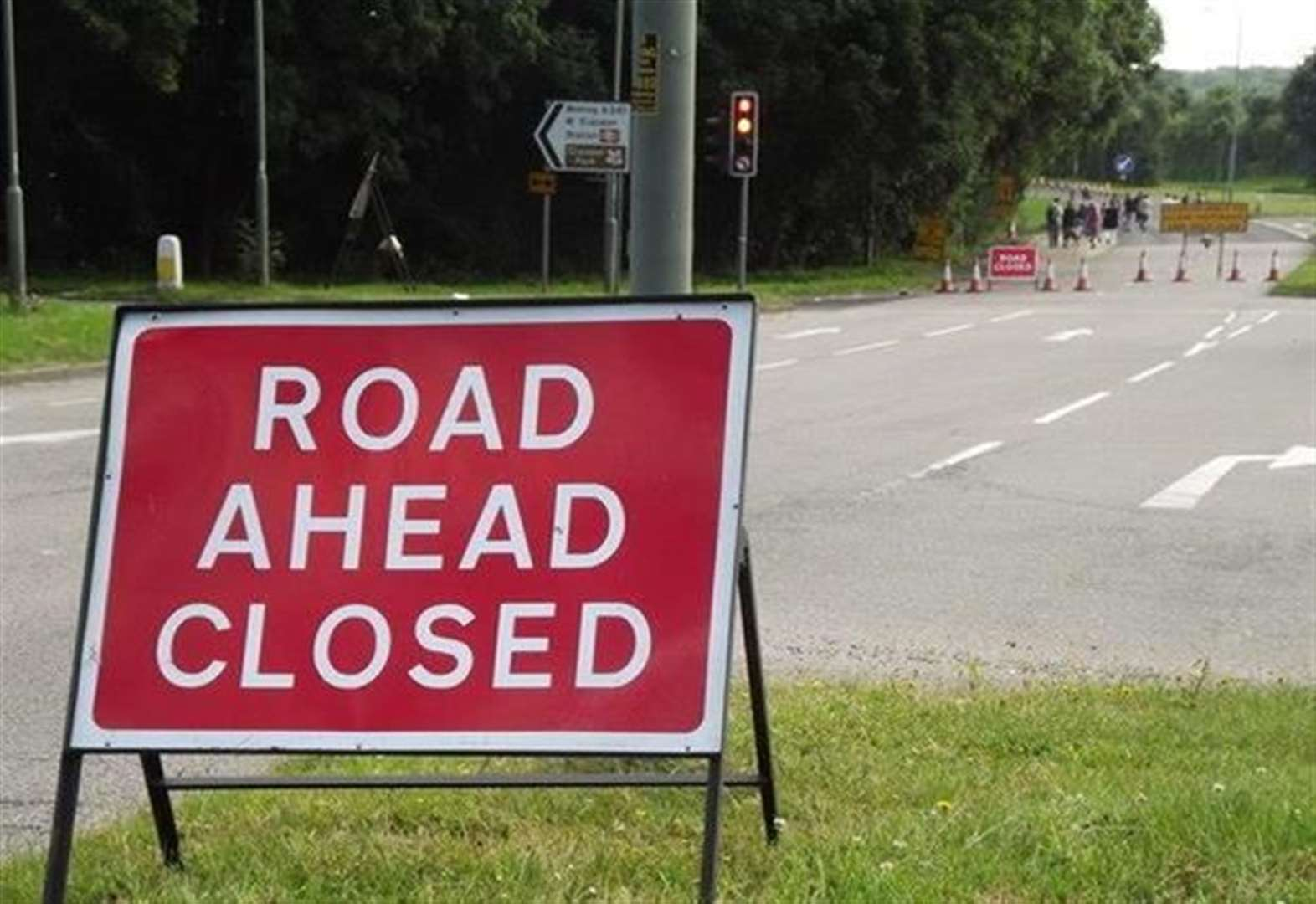 A14 and A11 disruption in roadworks this week