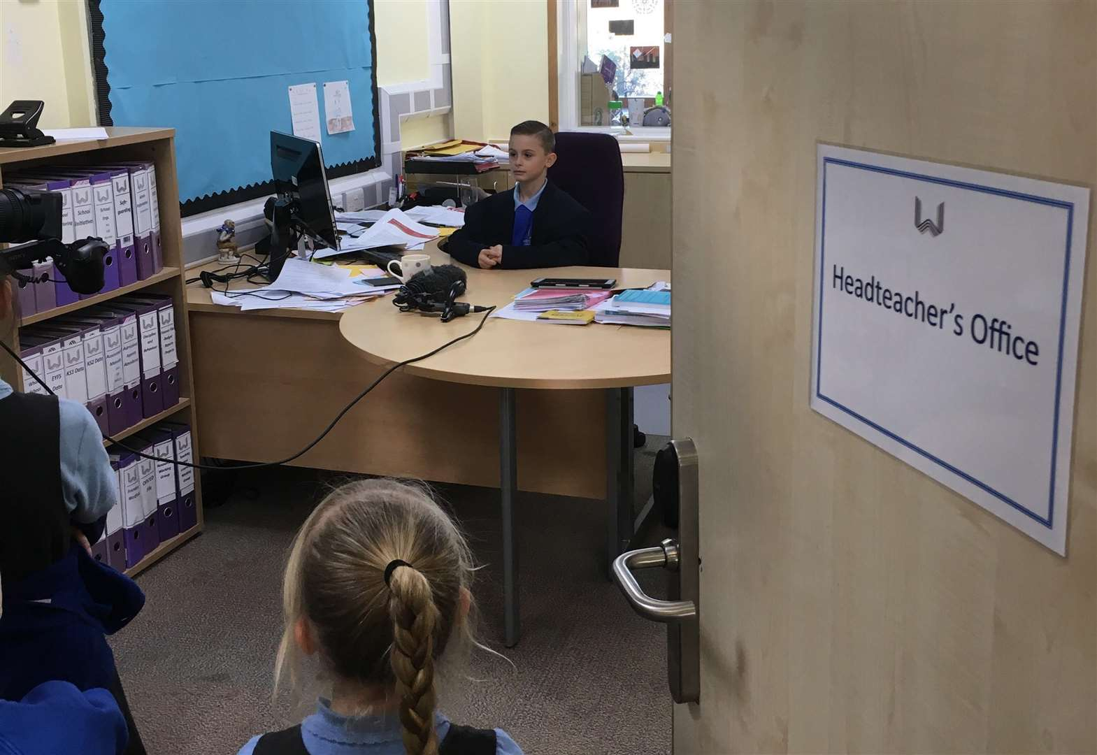 Recruitment video made by primary school in search for new headteacher
