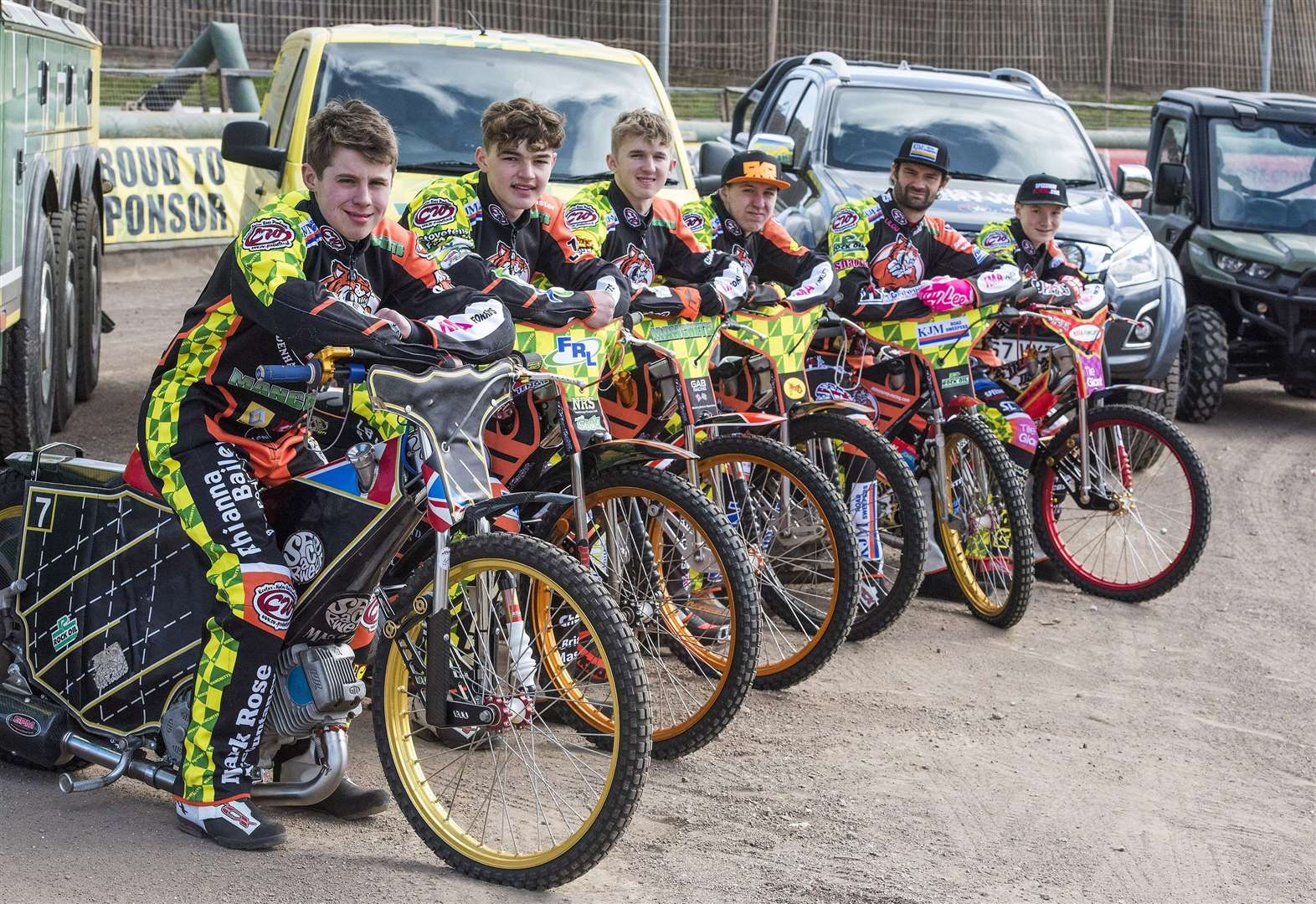 Team's effort recognised with shared Rider of the Year award