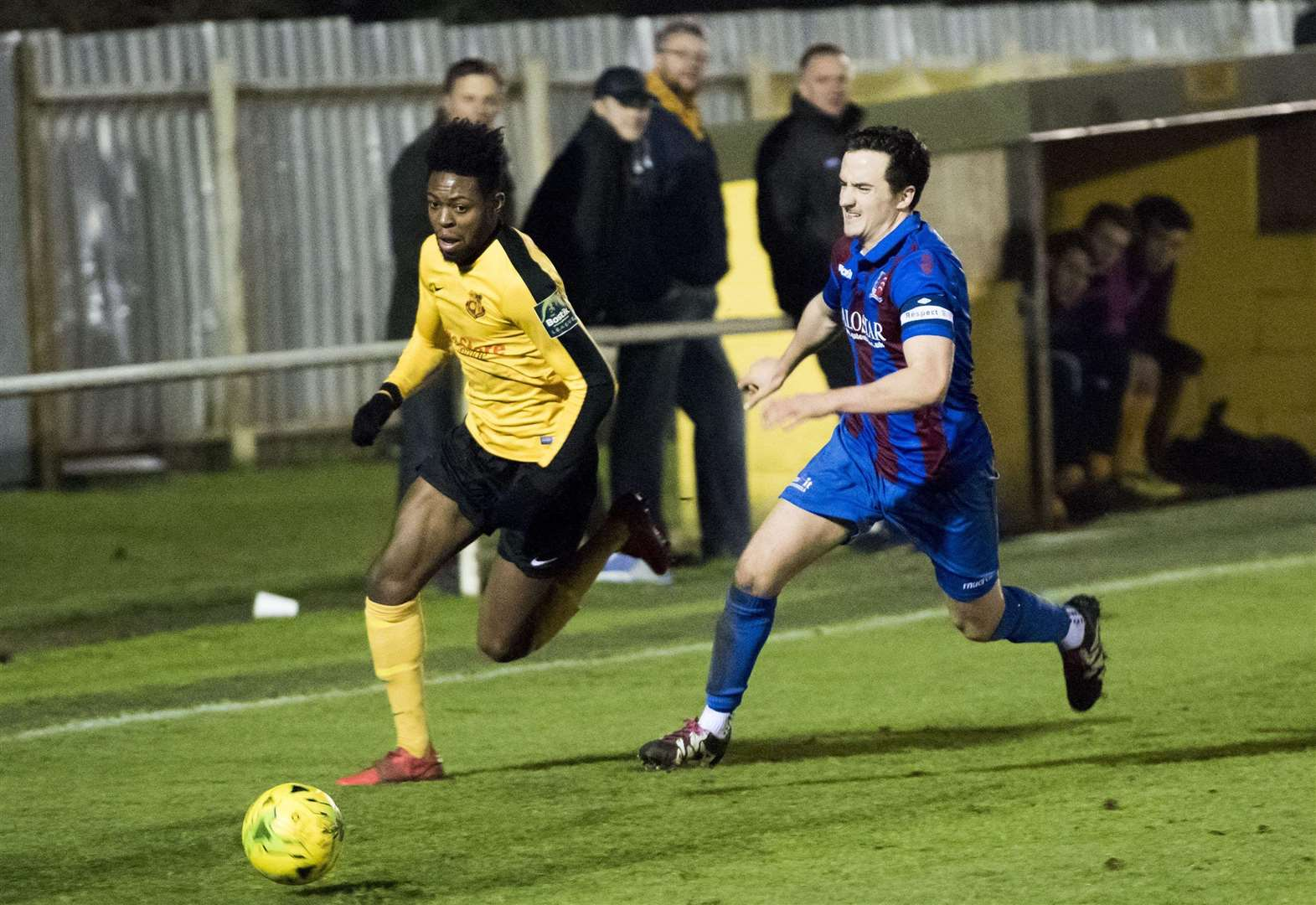 BOSTIK LEAGUE: Ofosu returns to Mildenhall