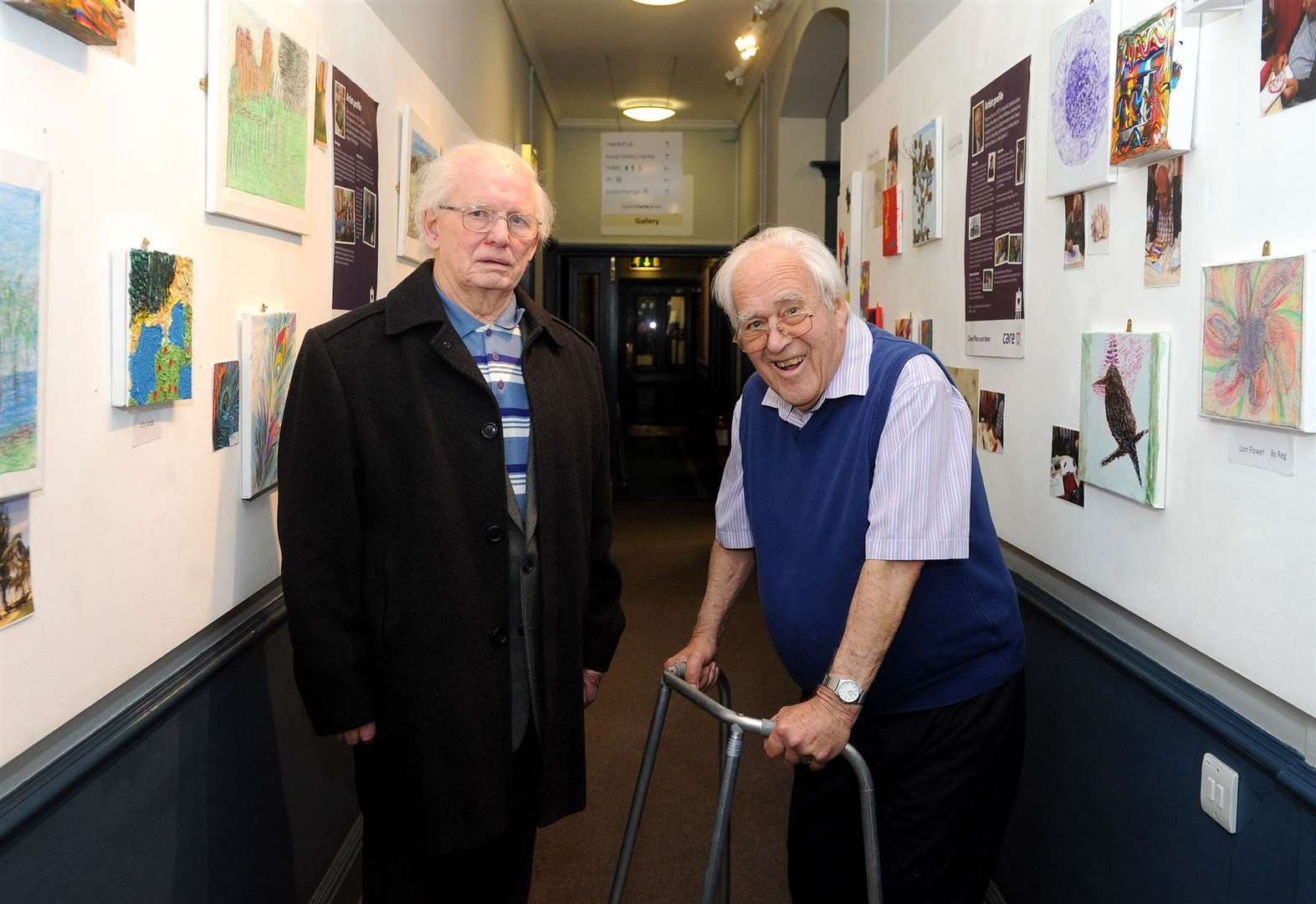 Art exhibition heralds the arrival of dementia friendly cinema shows