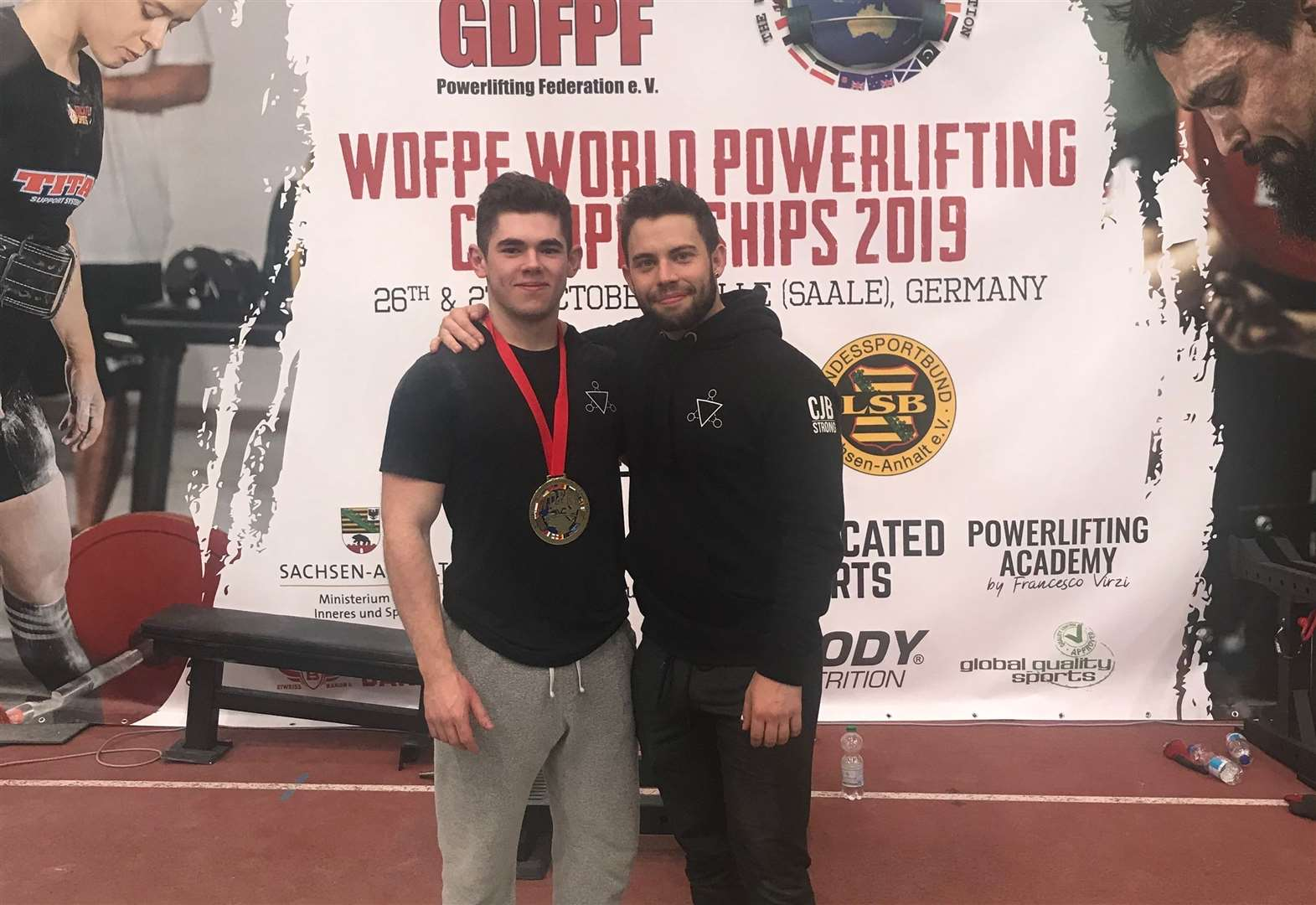 Thurston's Pryor-Woods lifts heavy world title in Germany