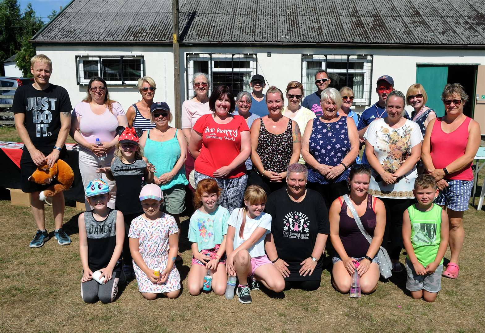 Ridgewell walkers step it up for charity