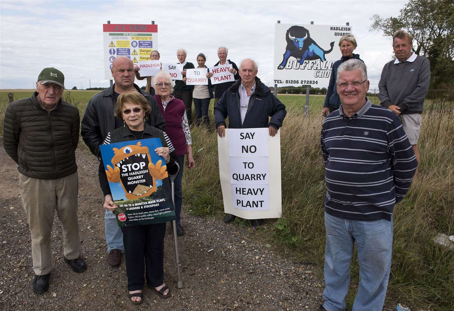 Campaigners raise safety fears over plans for ten-fold rise in HGV volume at Hadleigh quarry