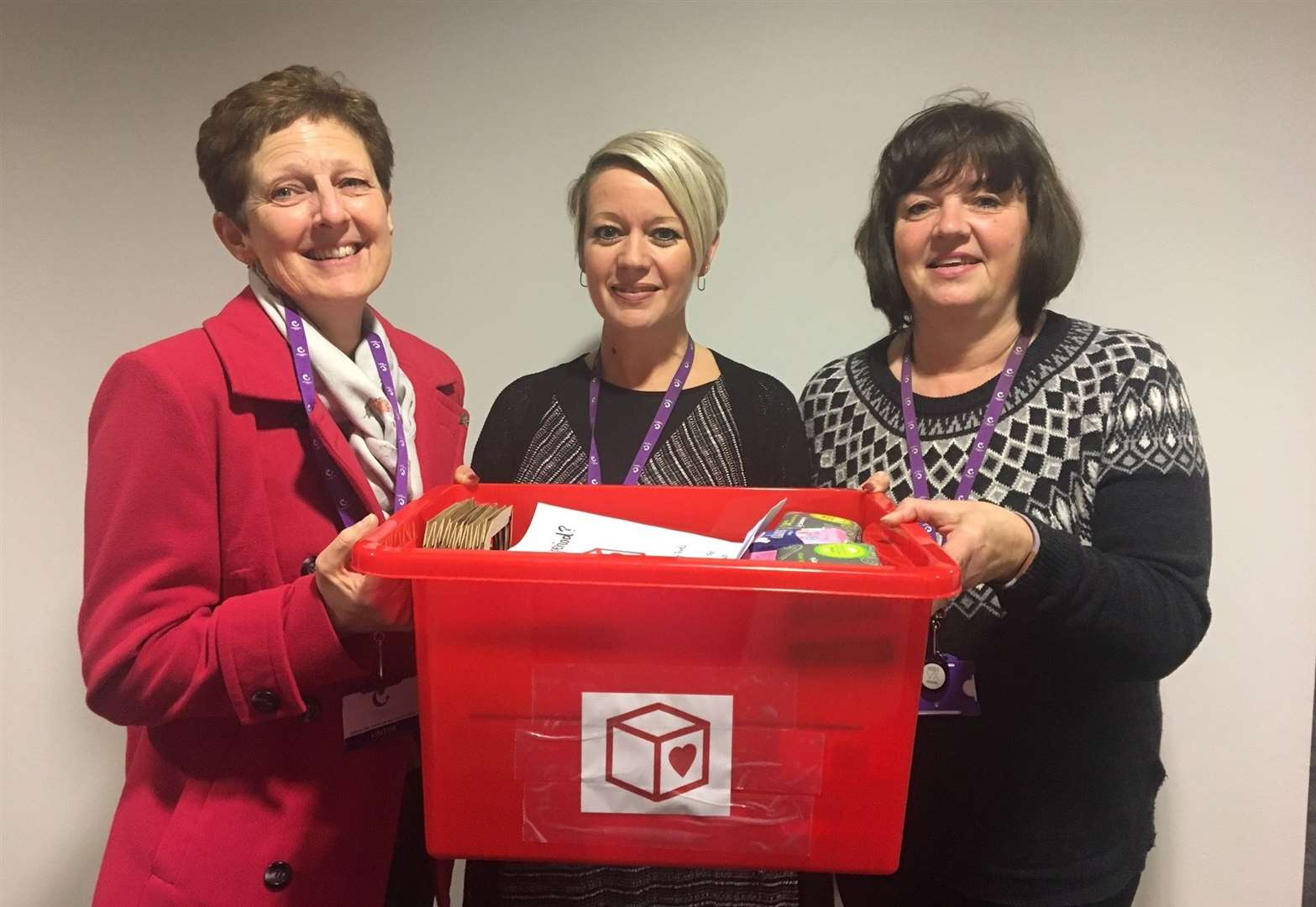 Sanitary products donation to support Haverhill's school girls